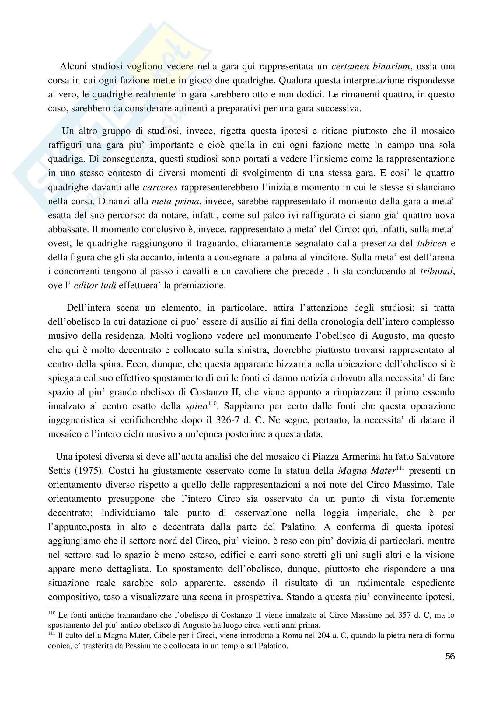 La villa romana di Piazza Armerina 2010, Archeologia e storia dell'arte Pag. 56