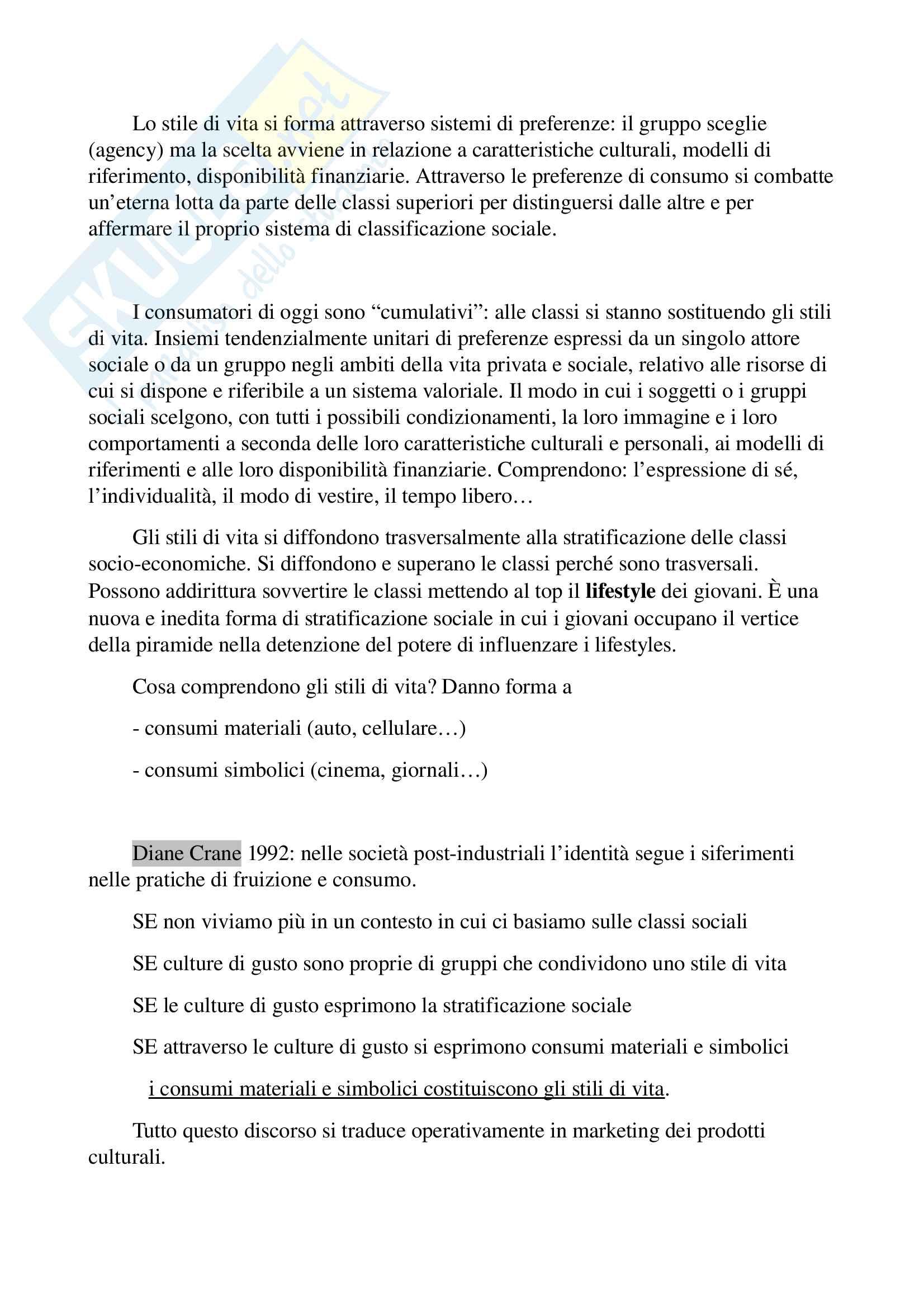 Riassunto esame di Sociologia della comunicazione, prof Vittadini Pag. 41