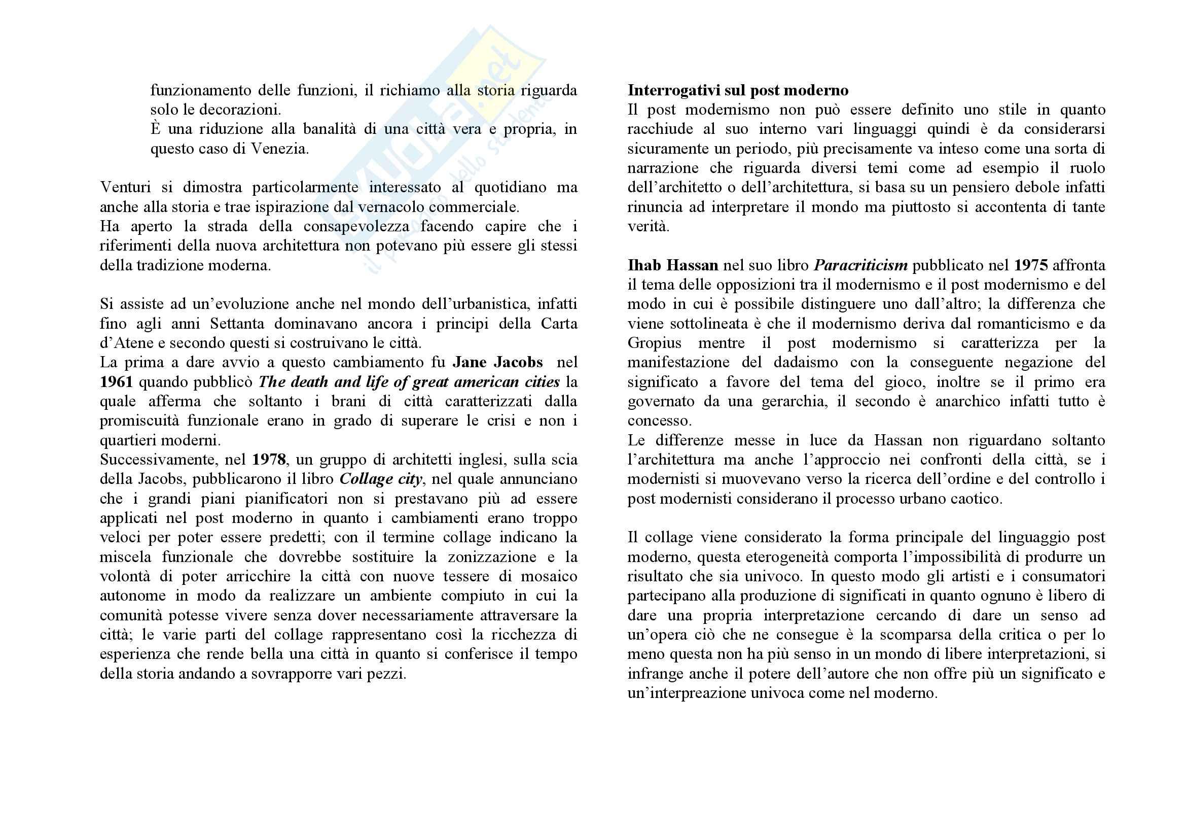 Storia dell'architettura del secondo Novecento Pag. 51