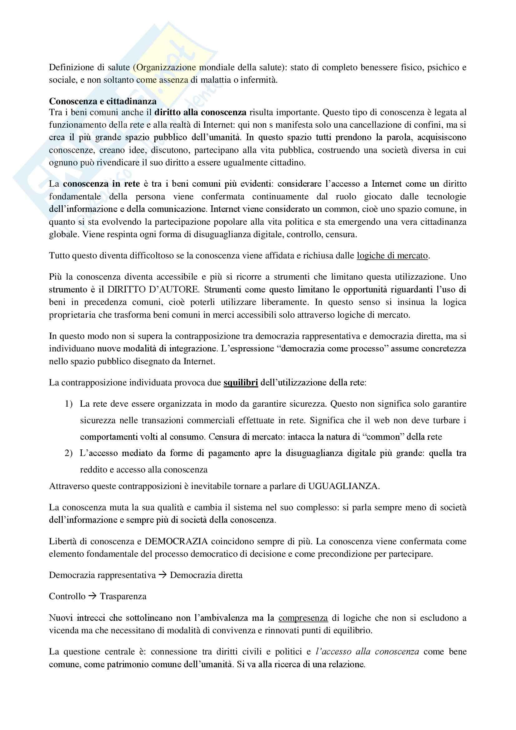 Riassunto esame diritto, prof. Messinetti, libro consigliato Il diritto di avere diritti, Rodotà Pag. 16