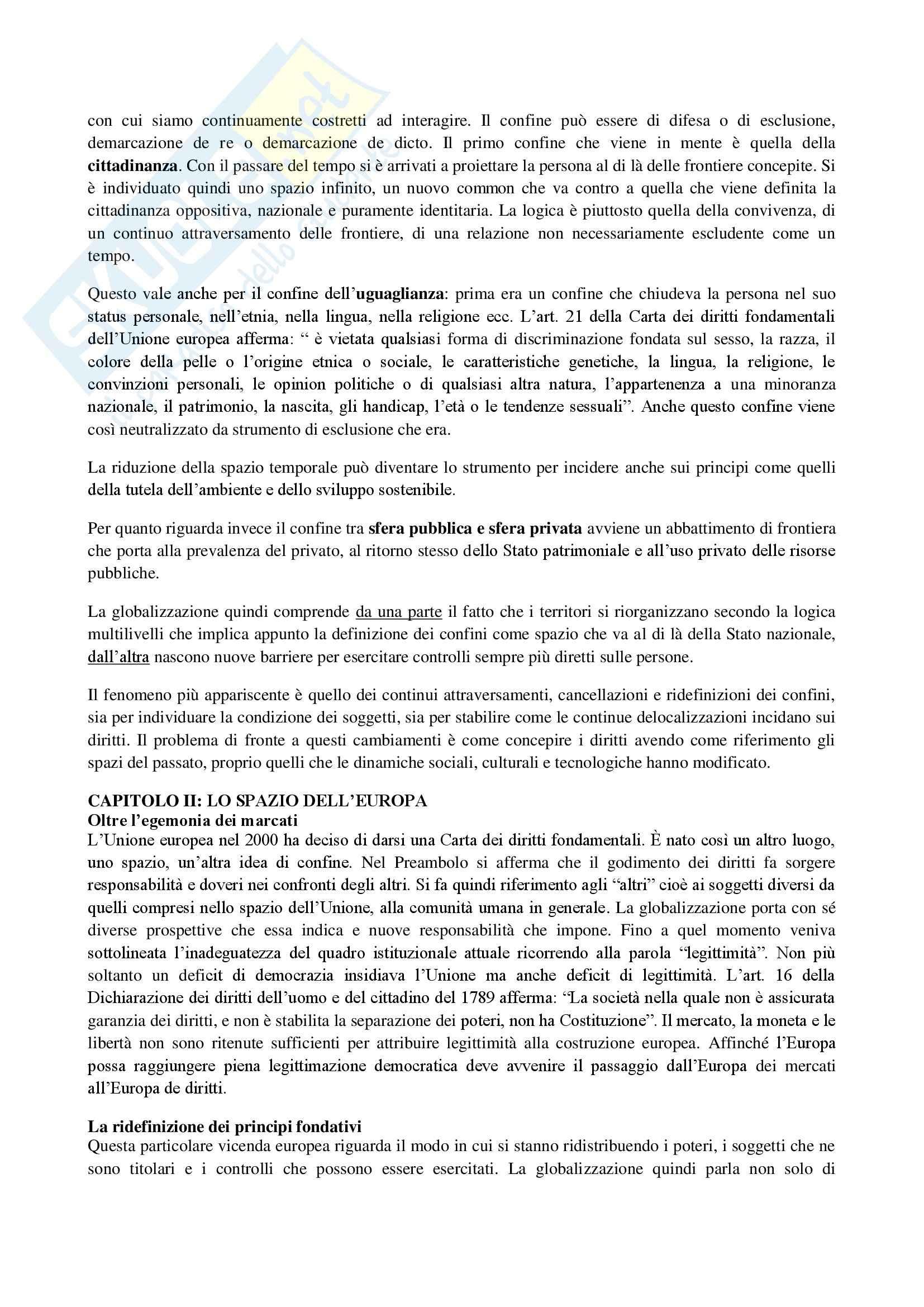 Riassunto esame diritto, prof. Messinetti, libro consigliato Il diritto di avere diritti, Rodotà Pag. 2