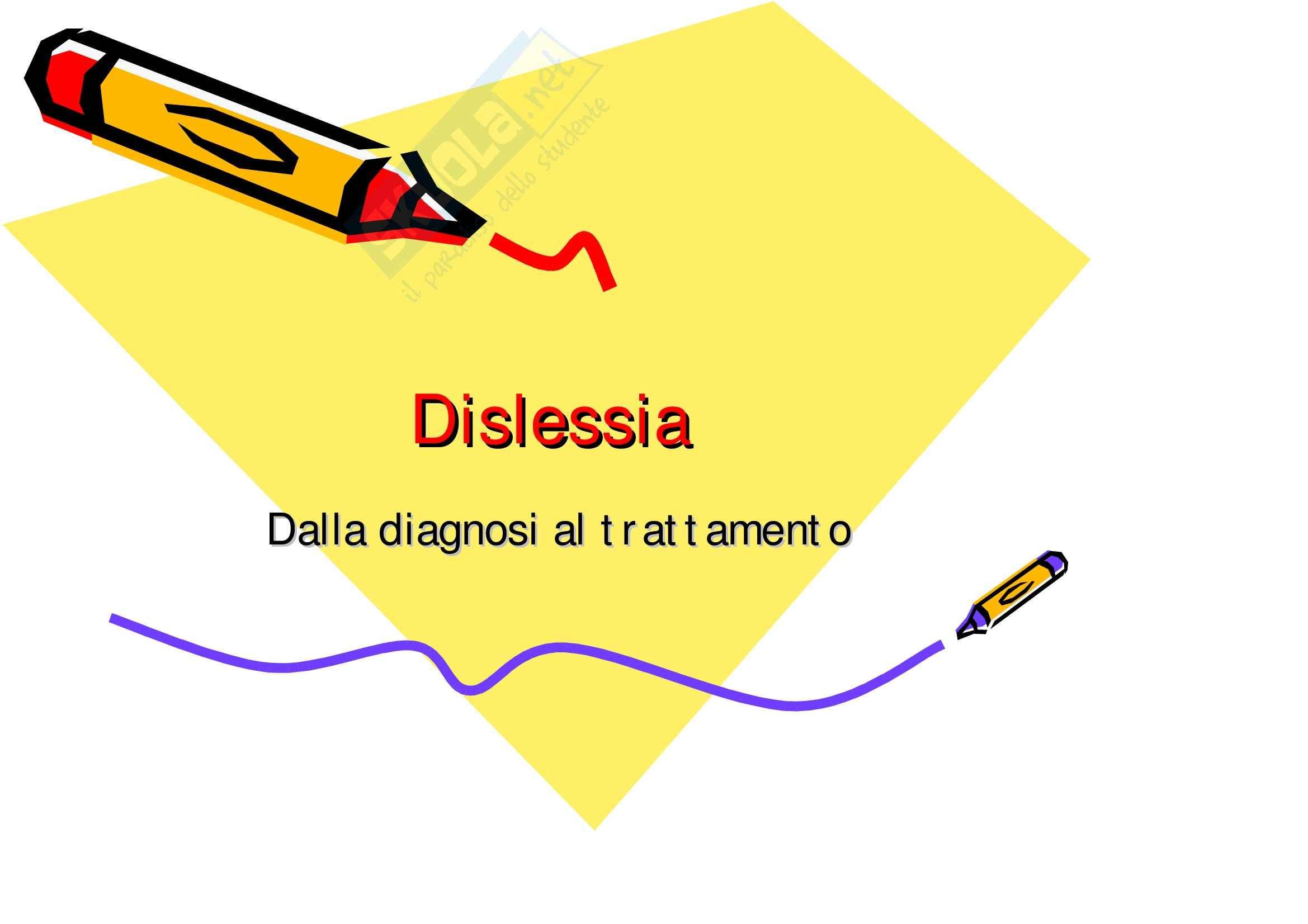 Psicologia clinica dello sviluppo – Dislessia