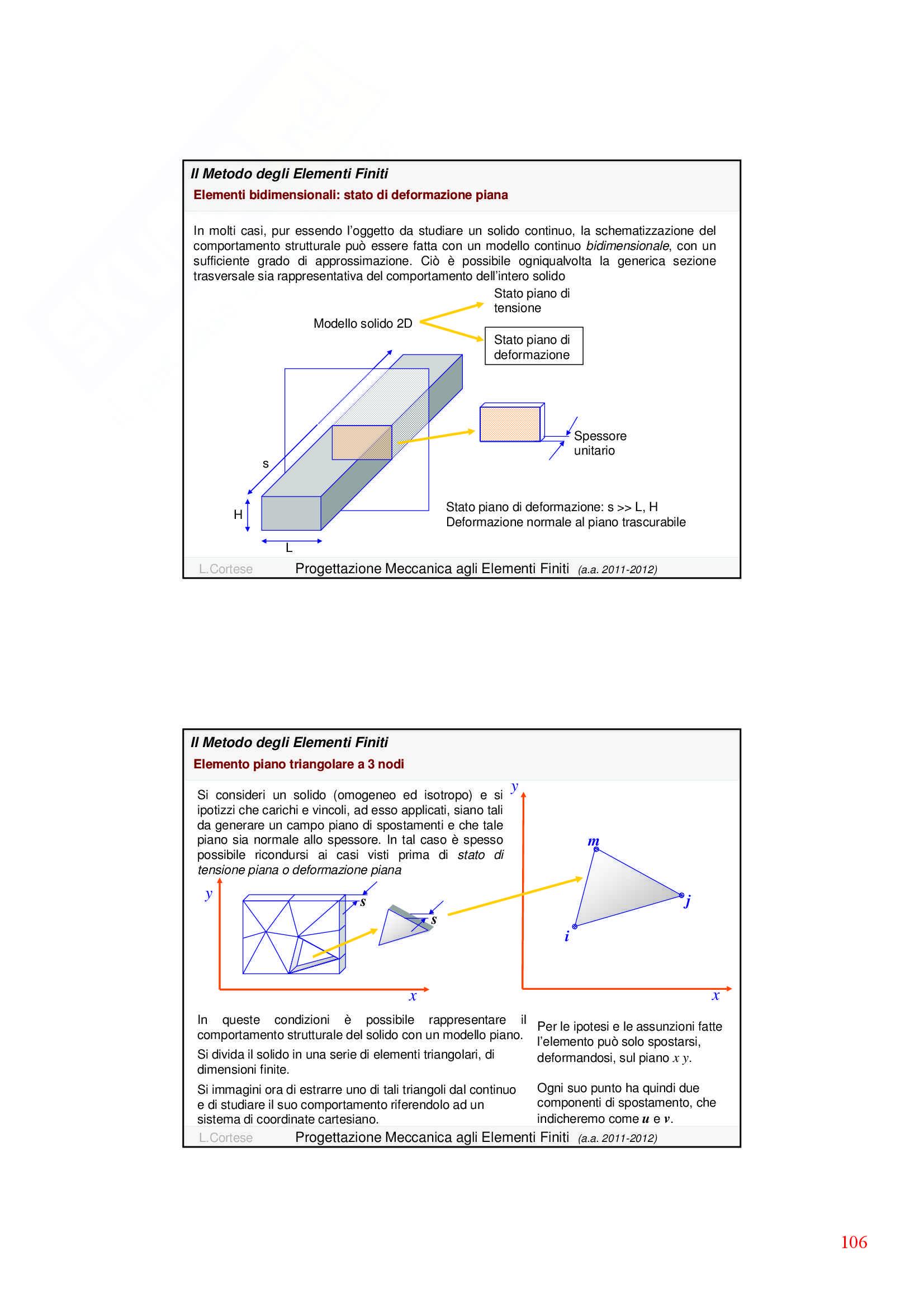 Dinamica delle strutture - Appunti Pag. 106
