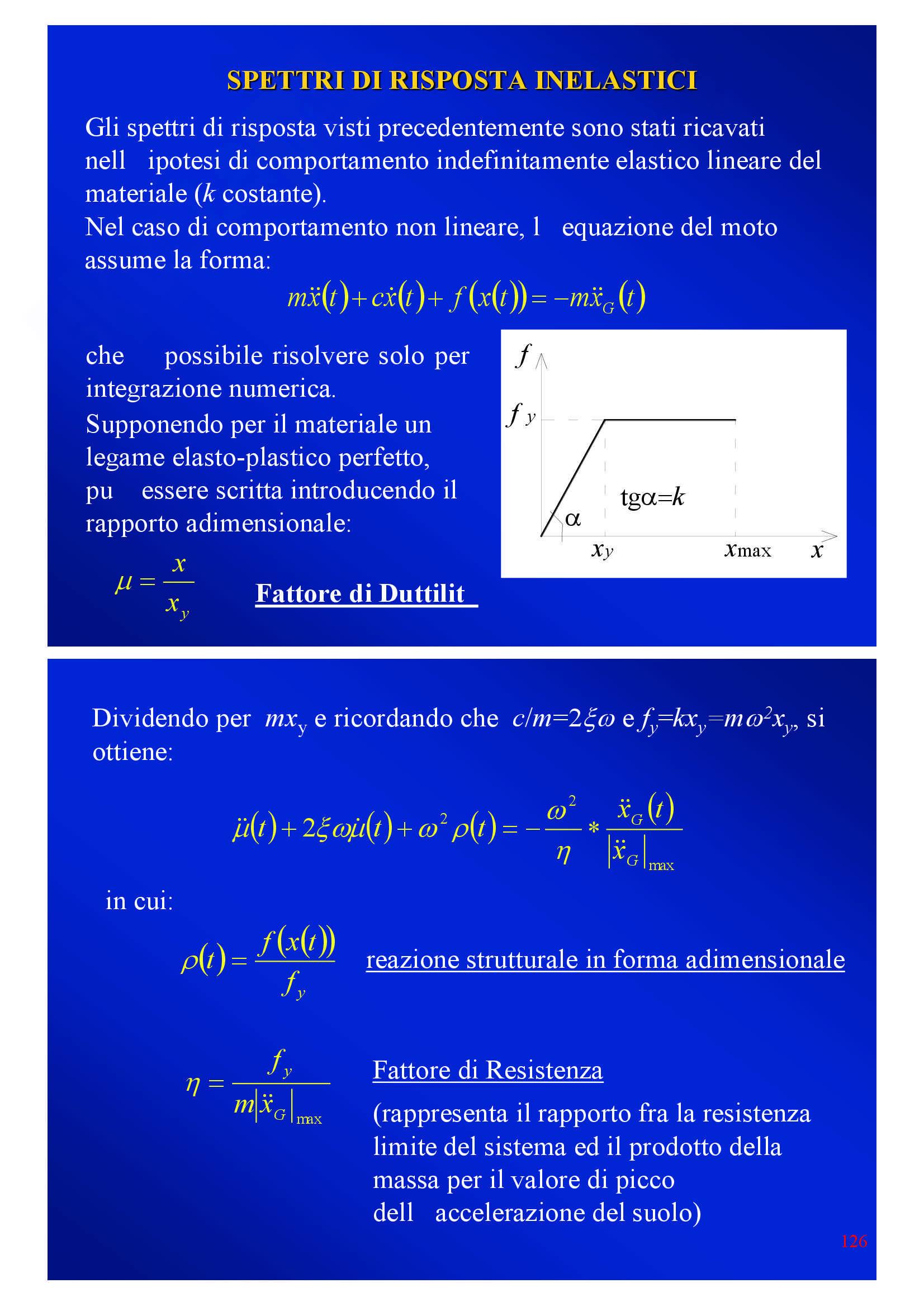 Dinamica delle strutture - Appunti Pag. 126