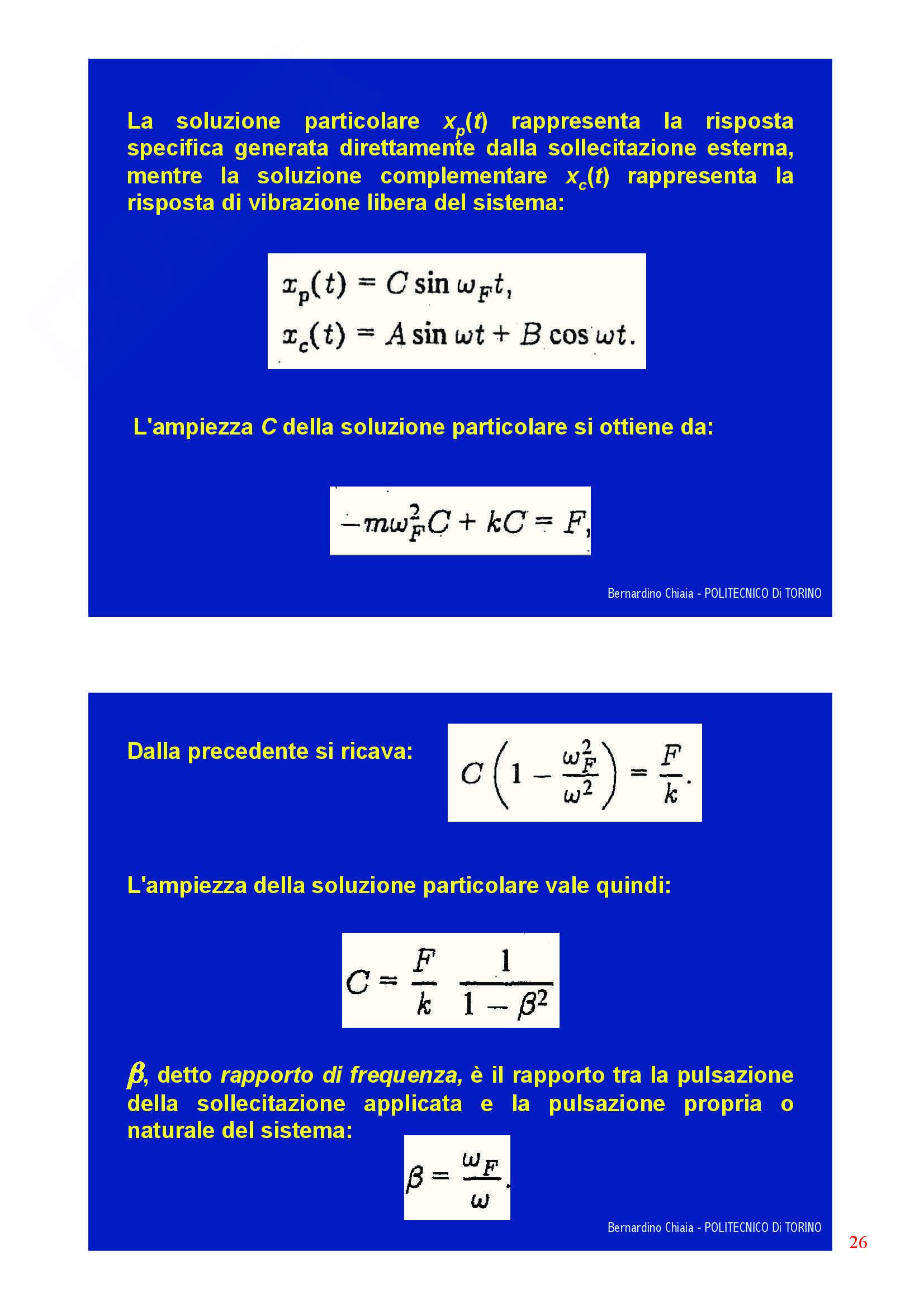 Dinamica delle strutture - Appunti Pag. 26