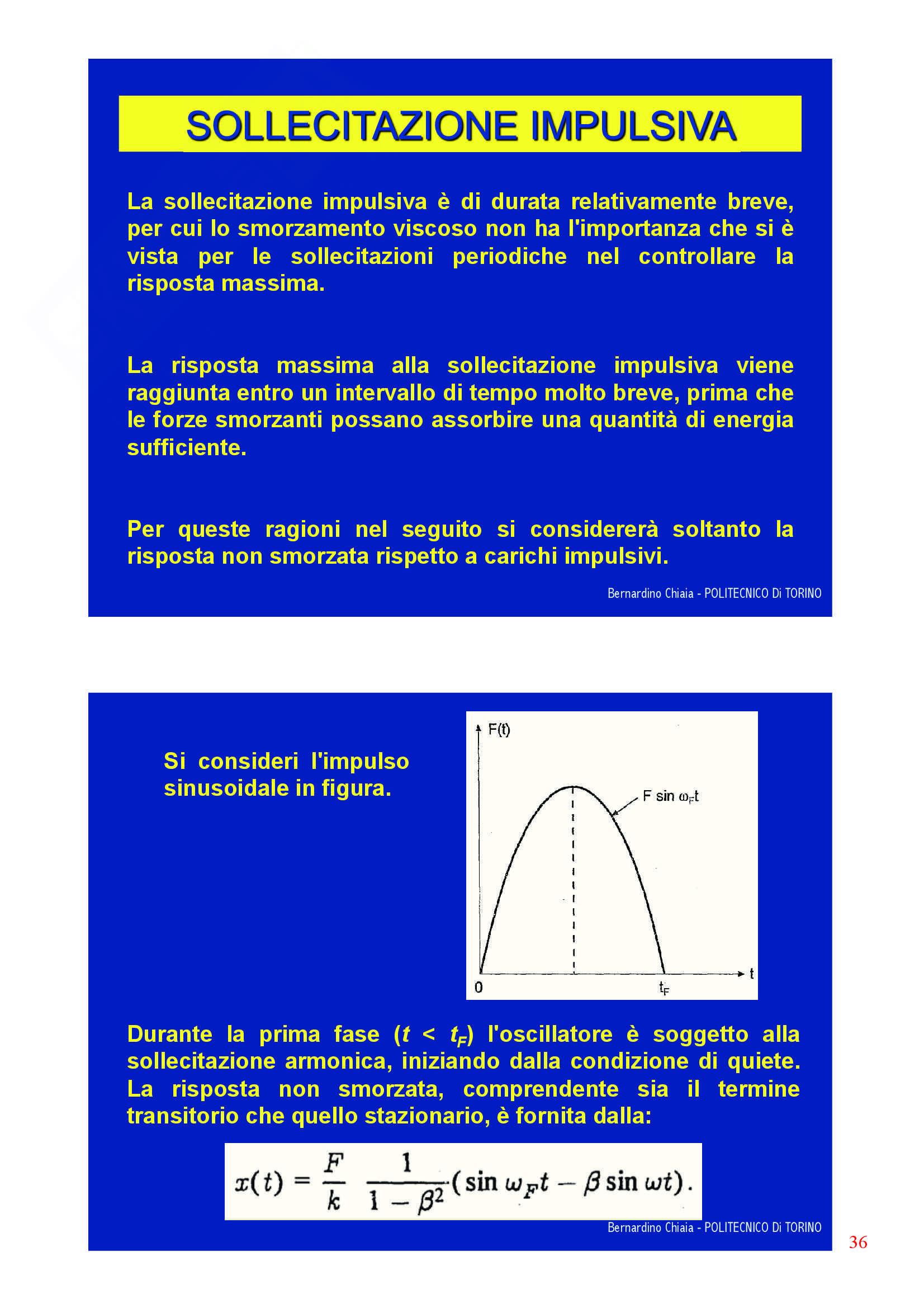 Dinamica delle strutture - Appunti Pag. 36
