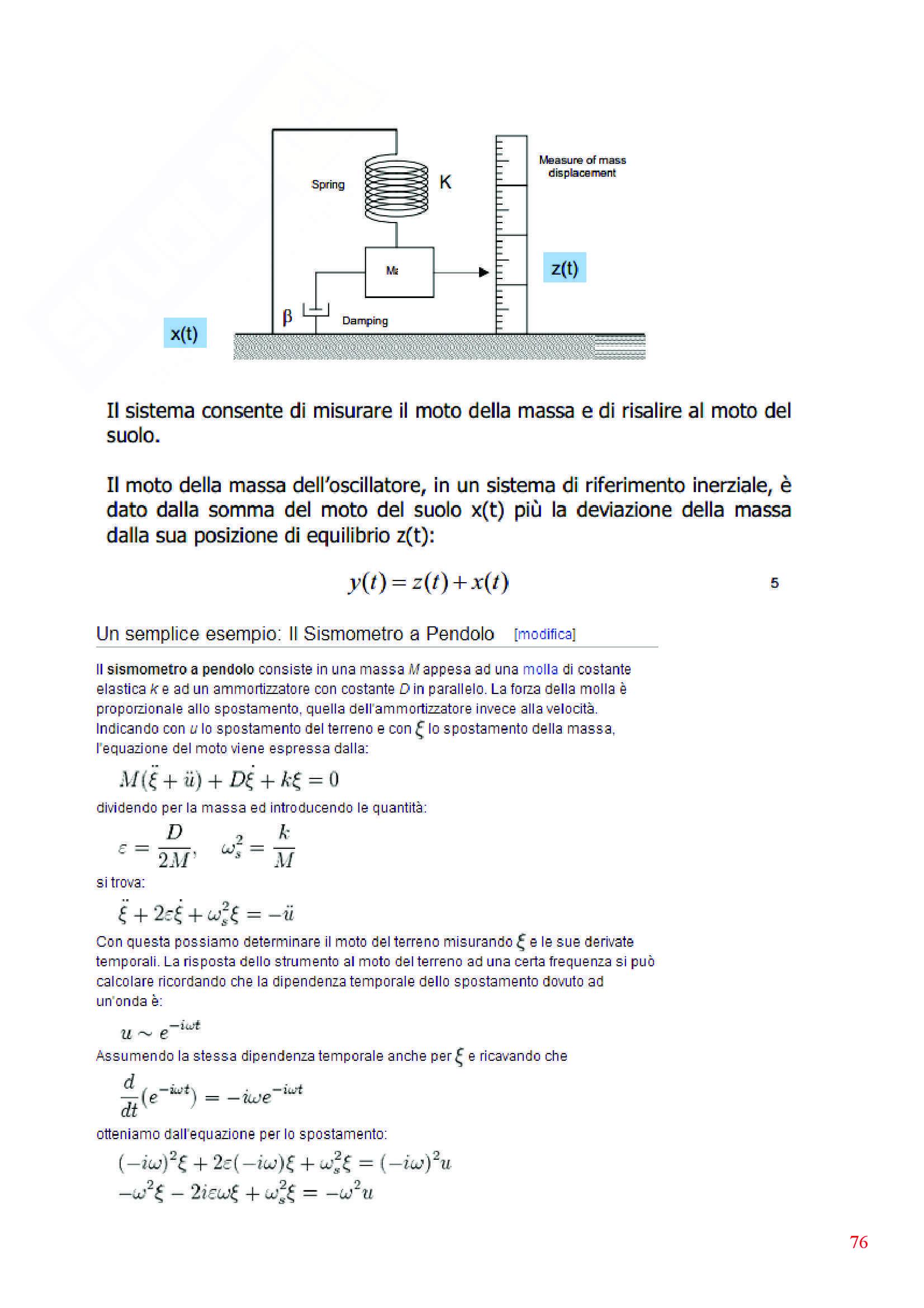 Dinamica delle strutture - Appunti Pag. 76