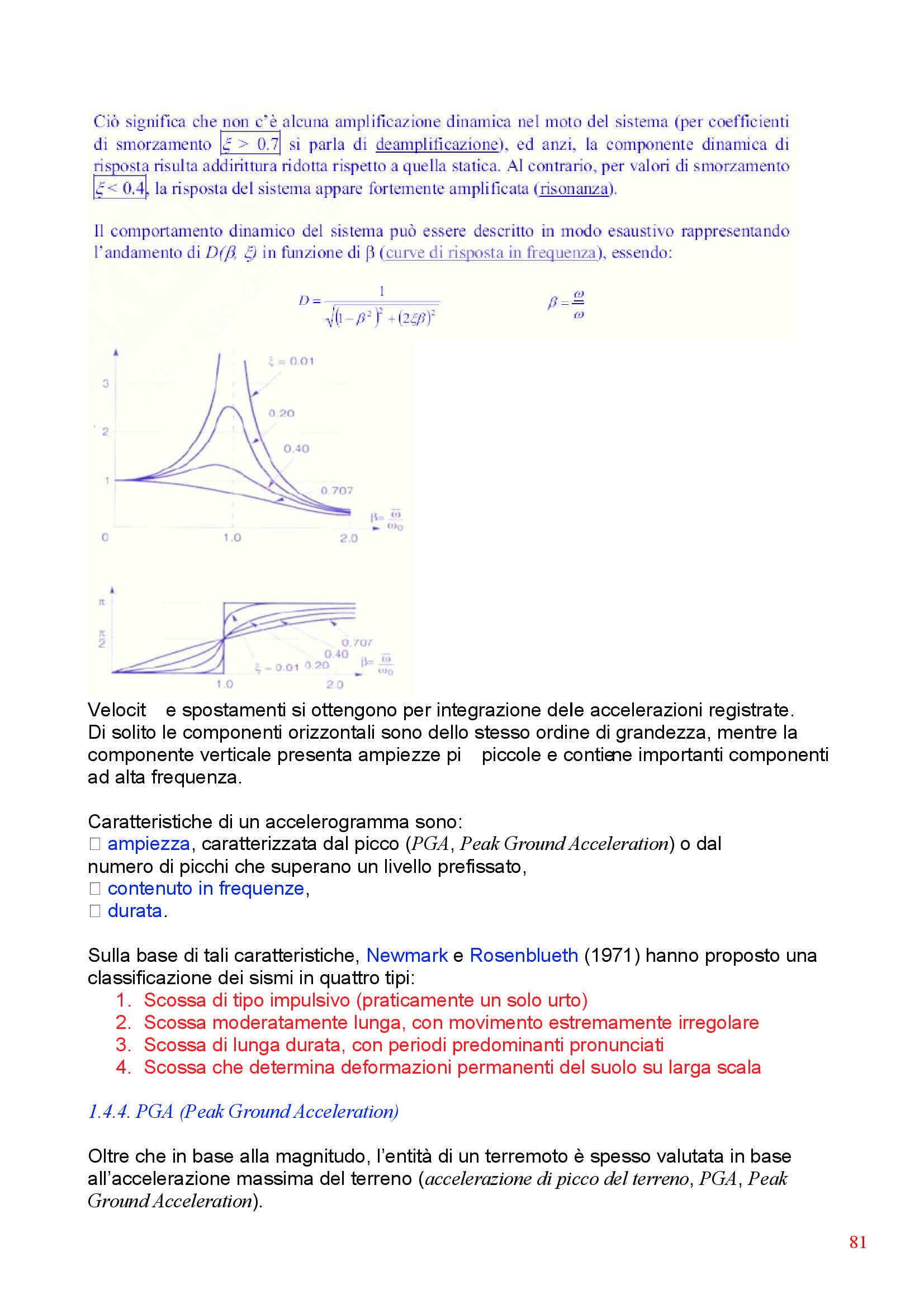 Dinamica delle strutture - Appunti Pag. 81