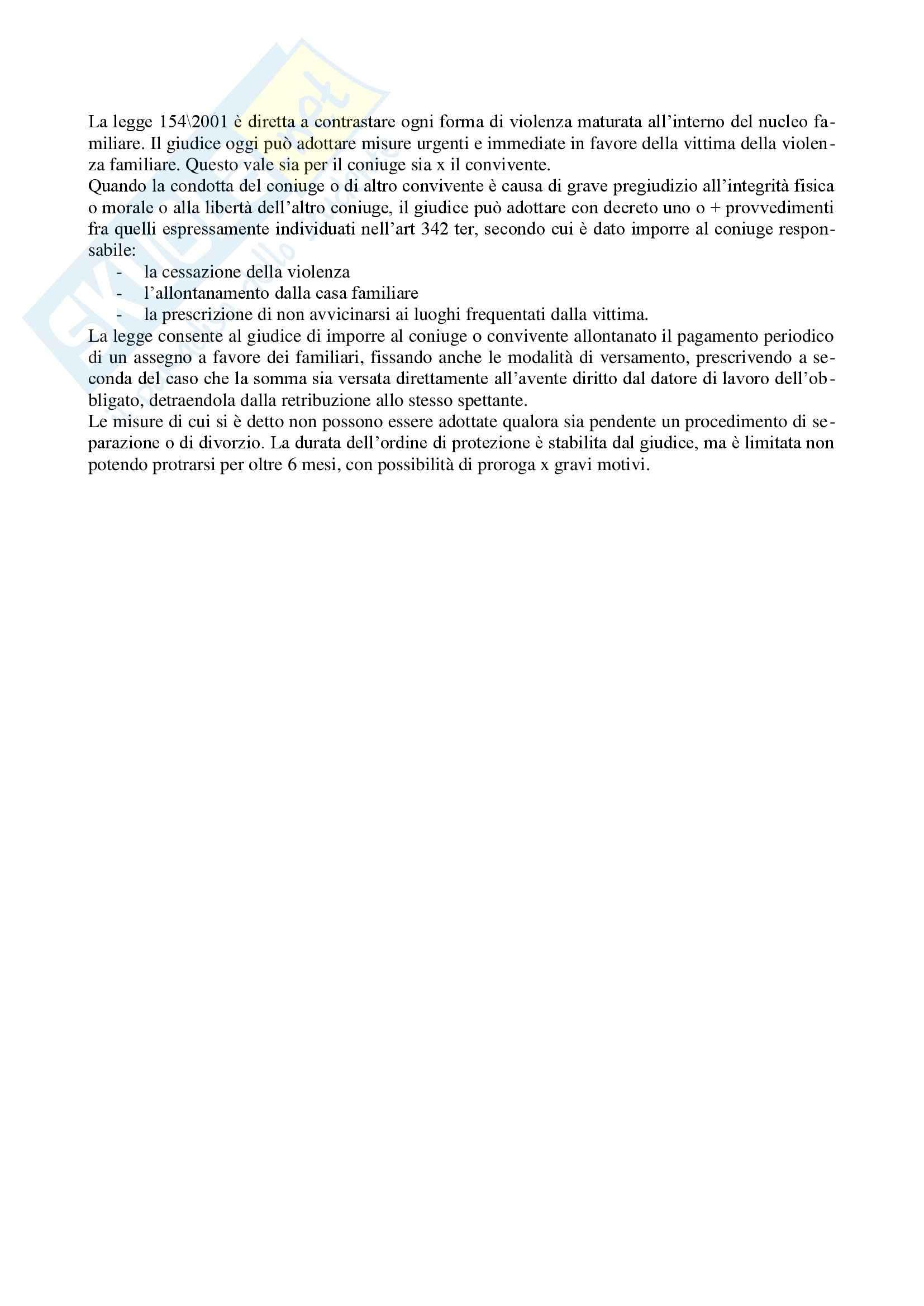 Diritto di famiglia - Riassunto esame Pag. 11