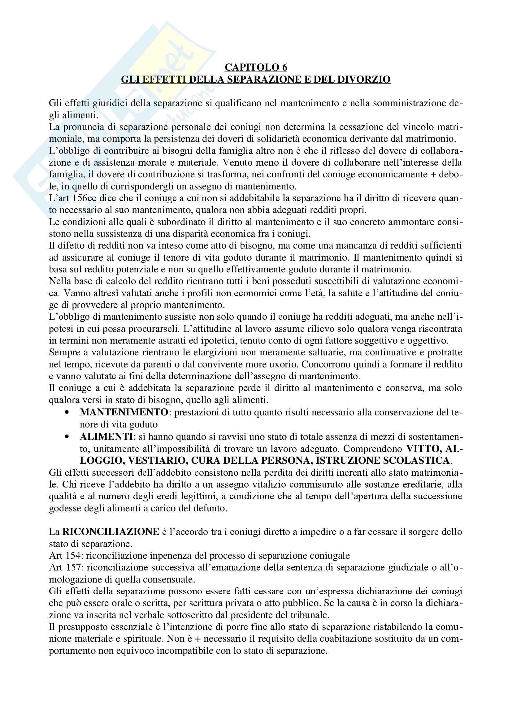 Diritto di famiglia - Riassunto esame Pag. 16