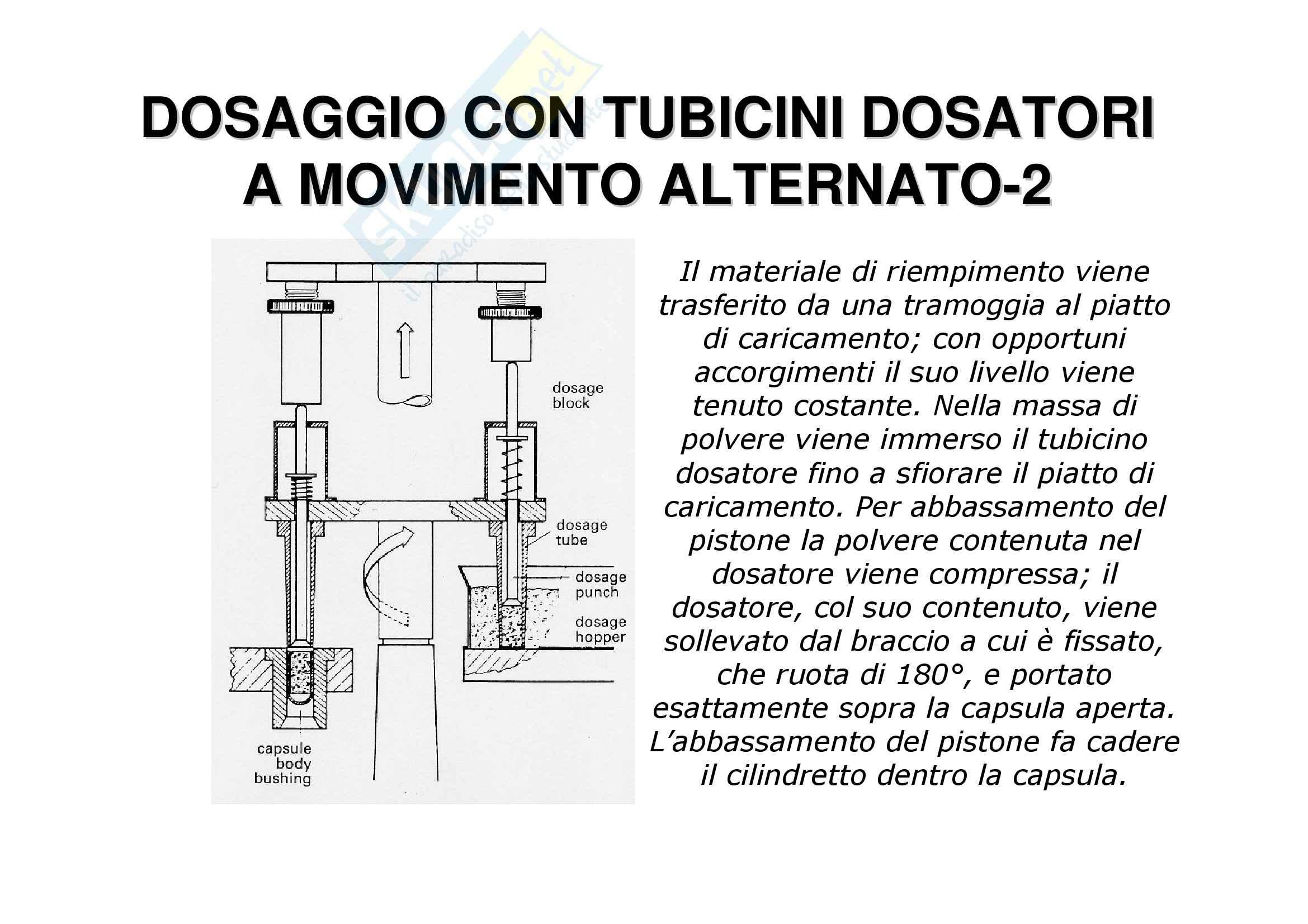 Tecnica farmaceutica - le capsule Pag. 36