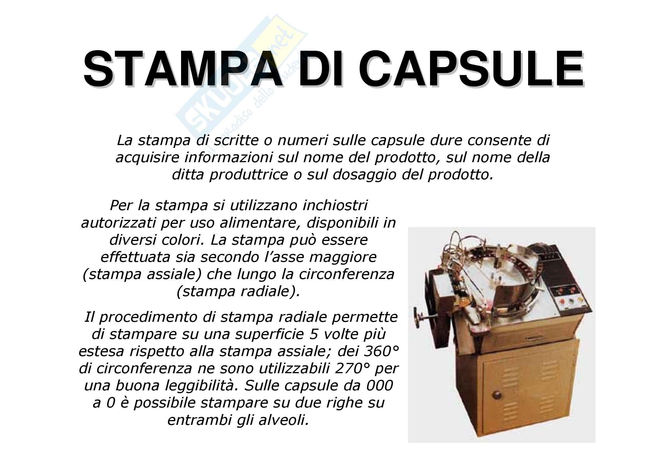 Tecnica farmaceutica - le capsule Pag. 51