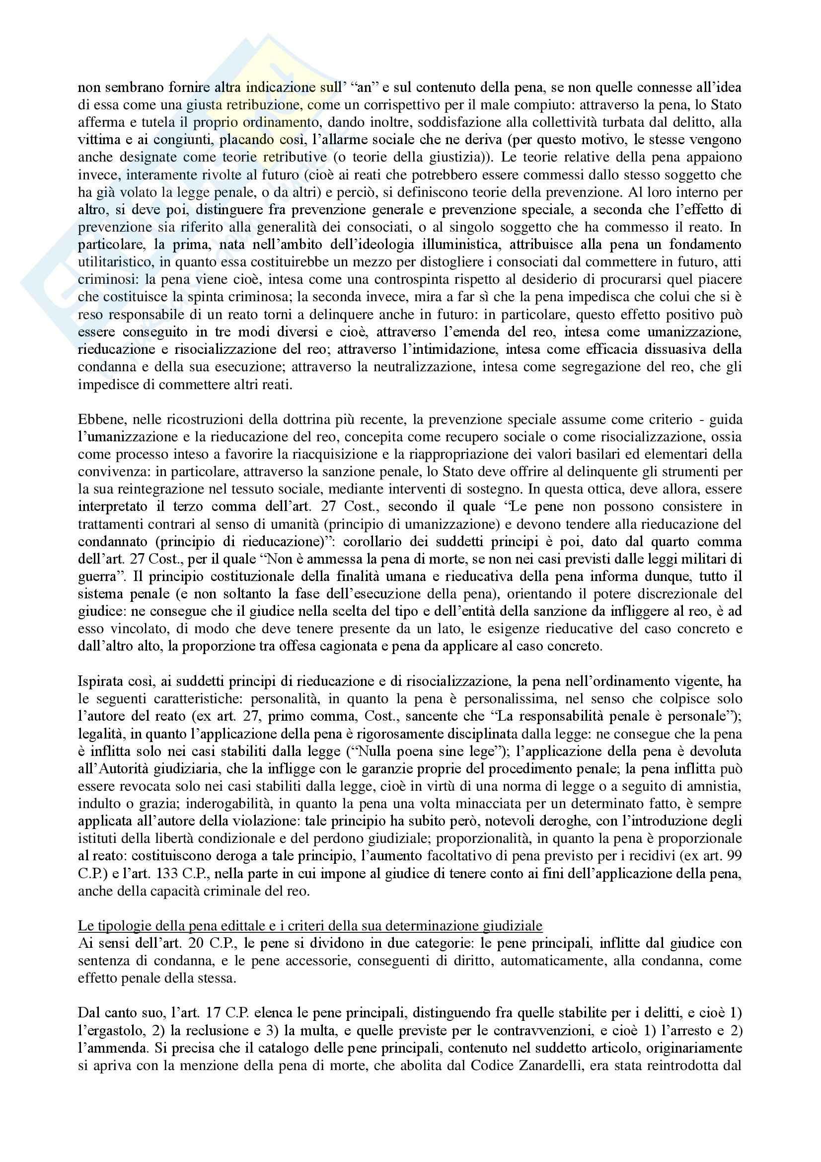 Riassunto esame Diritto, prof. Assumma, libro consigliato Diritto Penale, Fiore Pag. 66