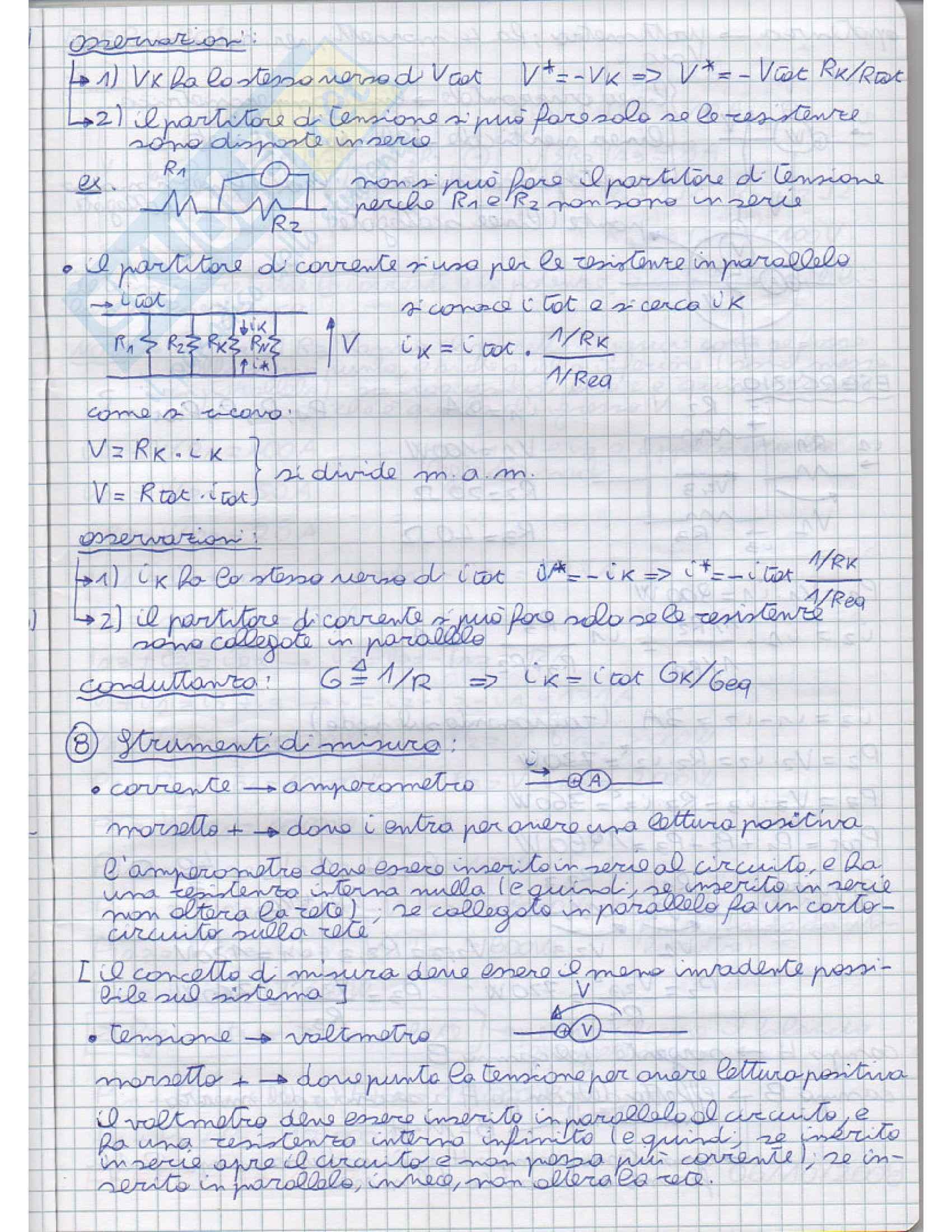 Principi di ingegneria elettrica - Appunti Pag. 11