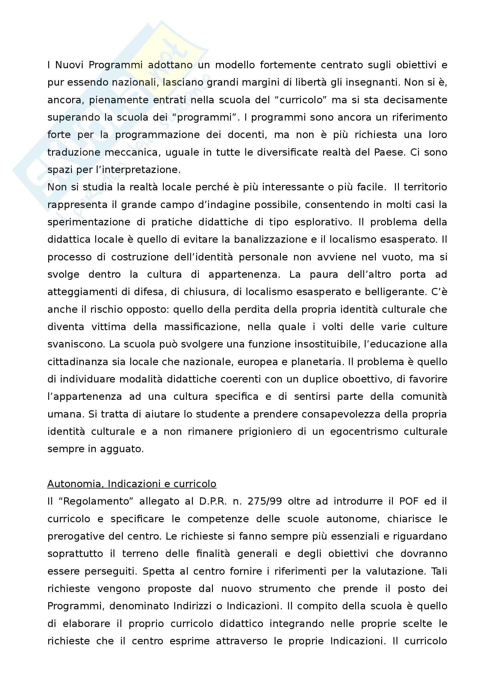 Riassunto esame didattica sul libro, prof. Fiorin Pag. 6