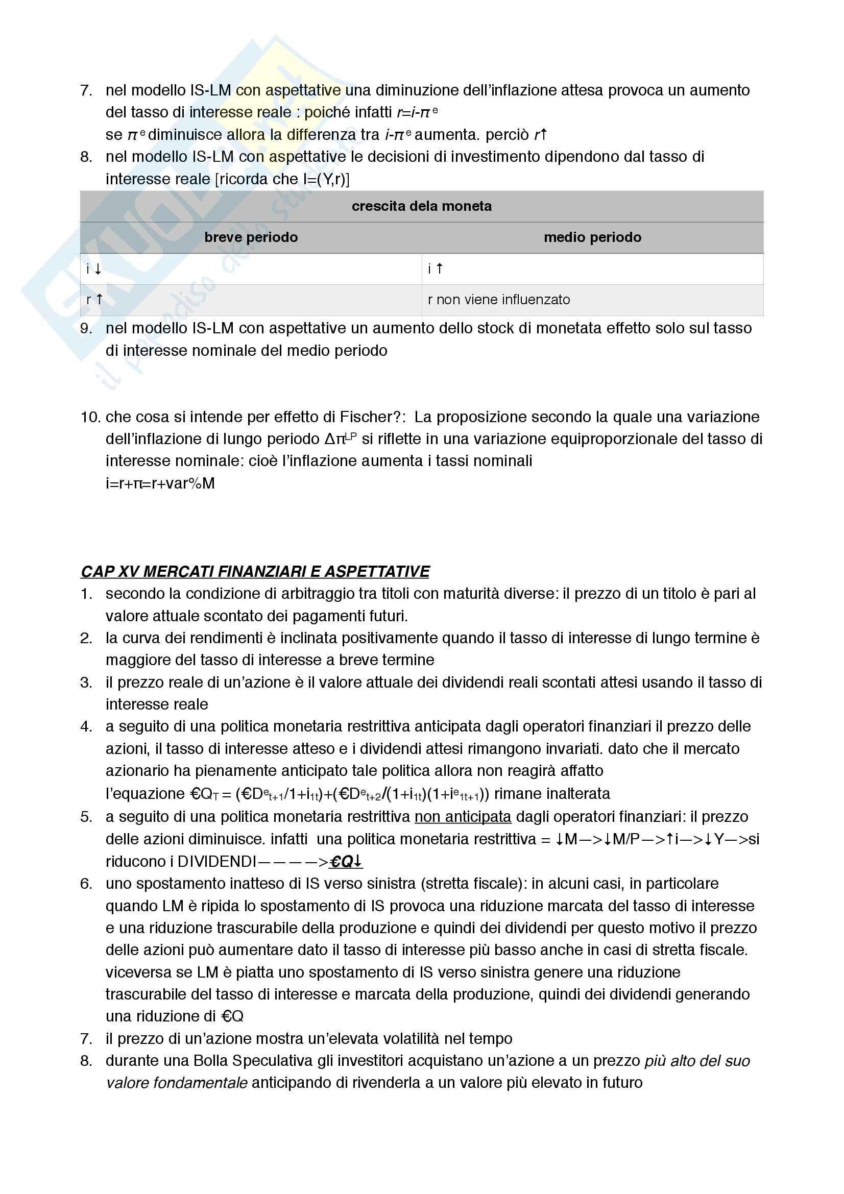 Domande e risposte di Macroeconomia Pag. 16