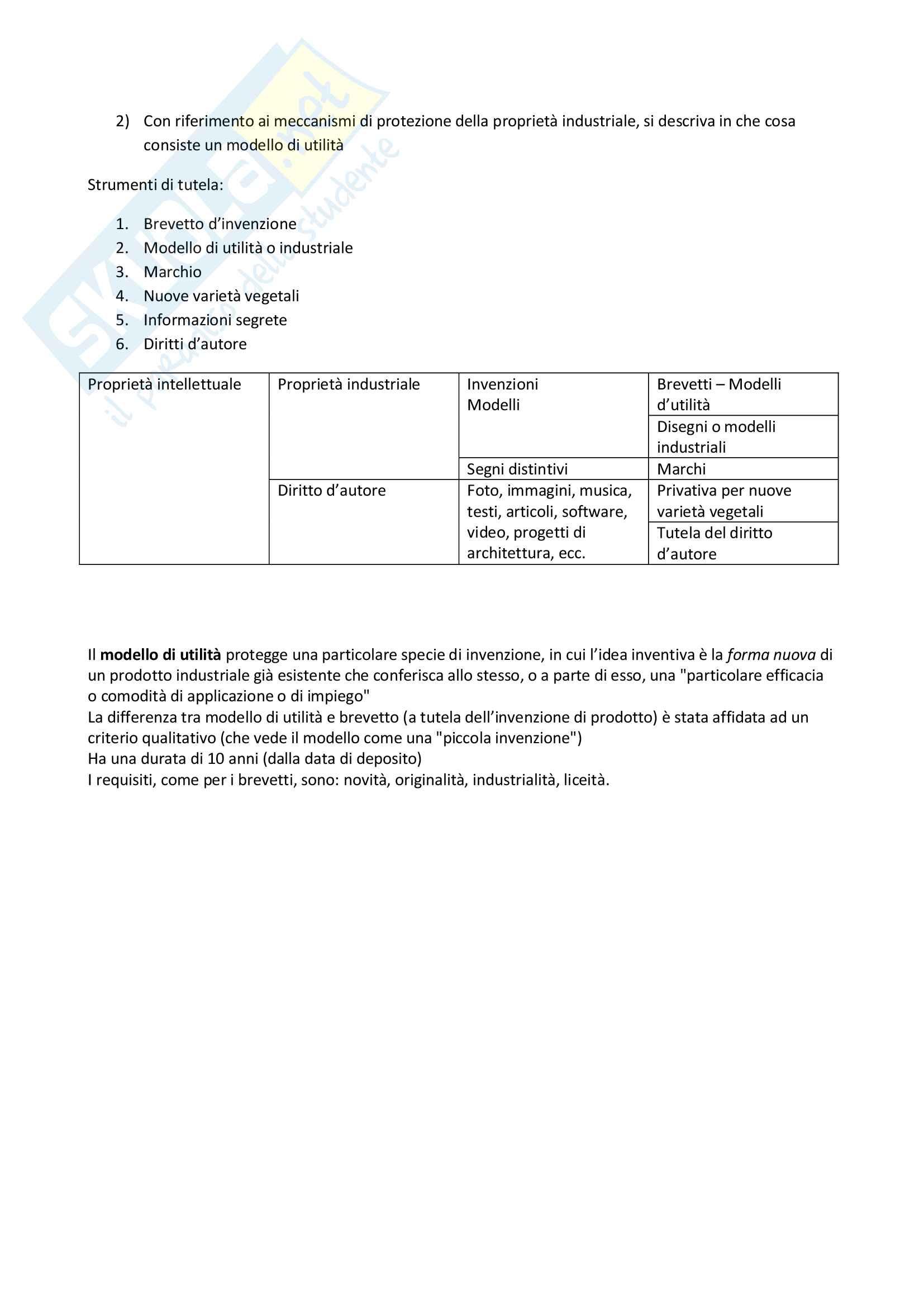 Fondamenti di Economia aziendale e dell'innovazione T - Simulazione esami Pag. 2