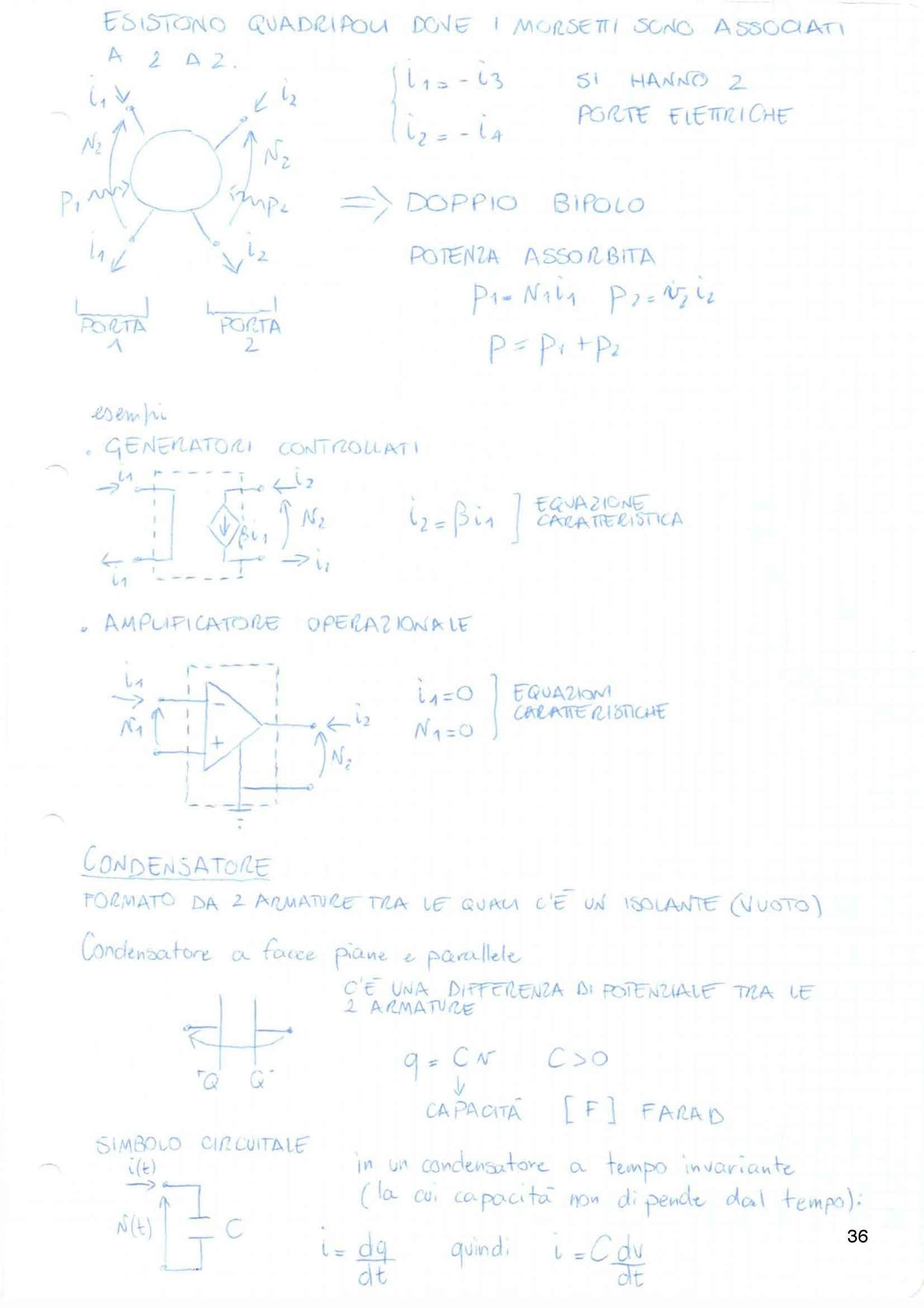 Elettrotecnica ed Elettronica applicata - Appunti Pag. 36