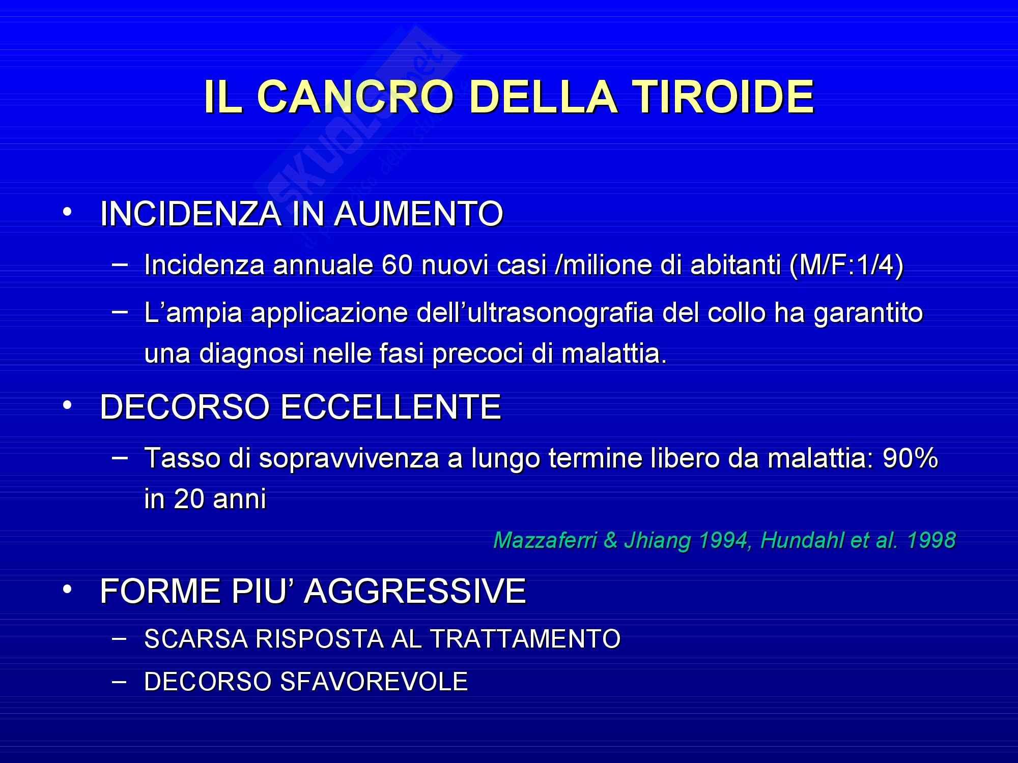 Endocrinologia - carcinoma della tiroide Pag. 2