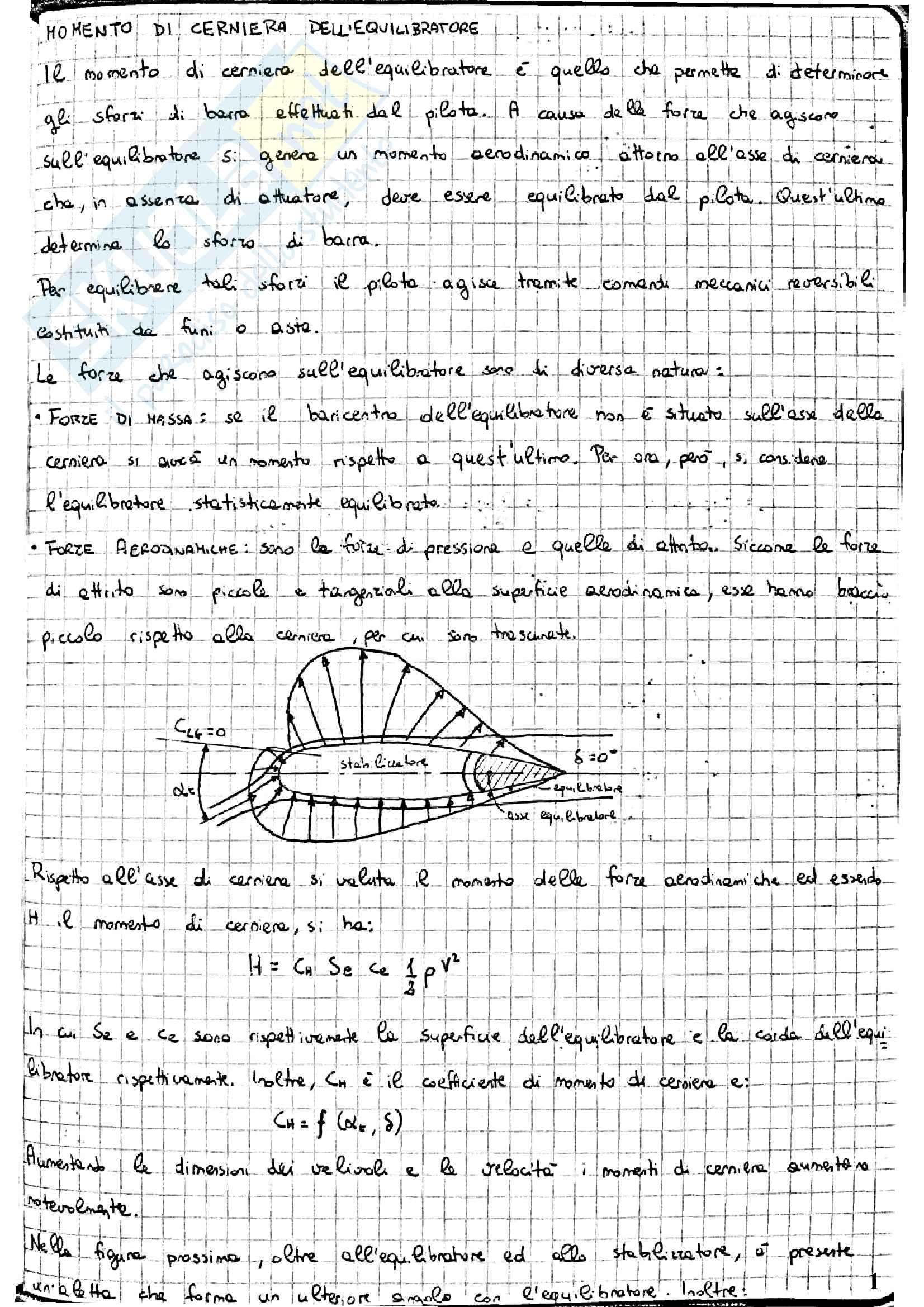 Appunti di Meccanica del volo
