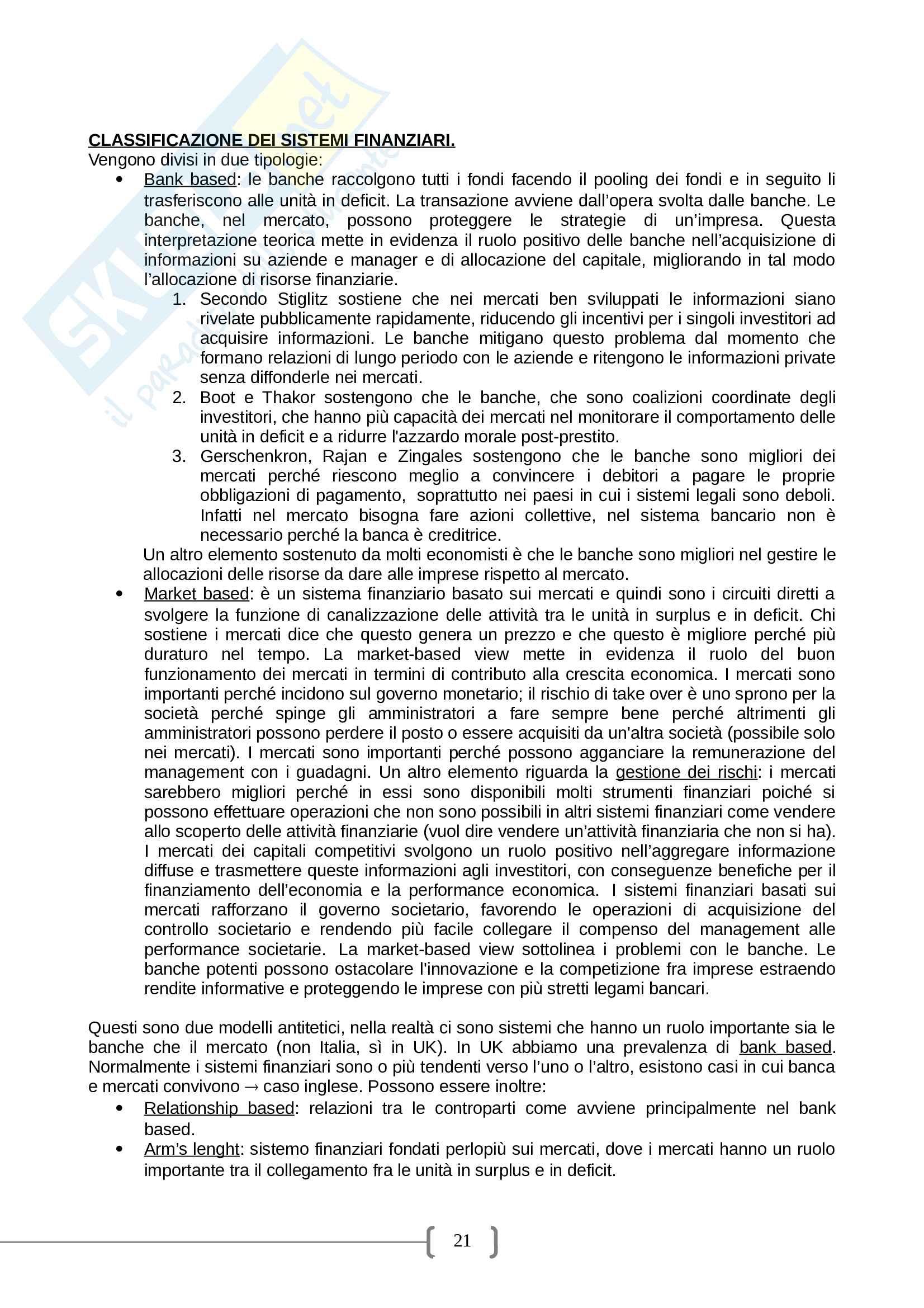 Economia delle aziende di credito - Federica Poli Pag. 21
