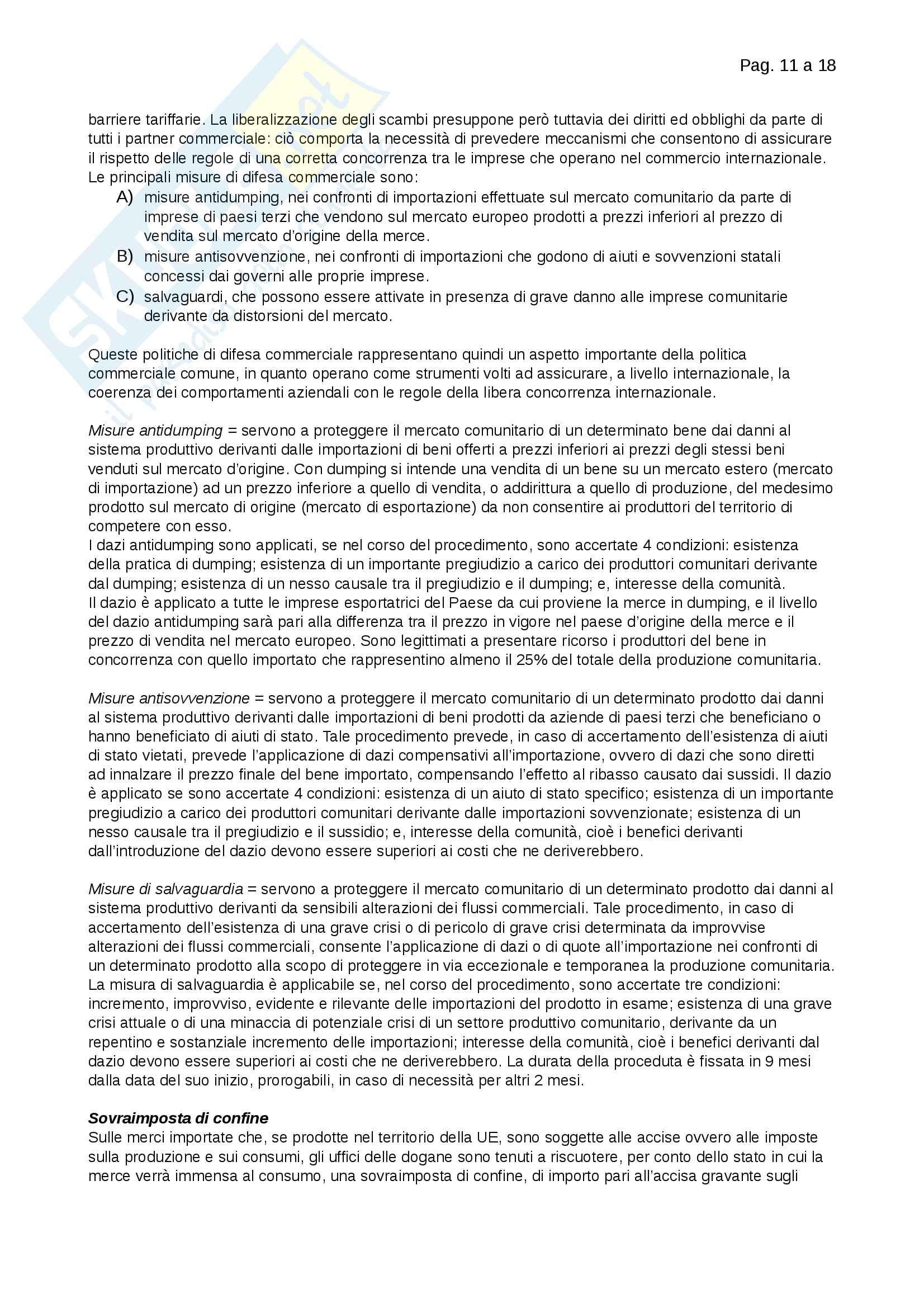 Riassunti Merceologia Pag. 11
