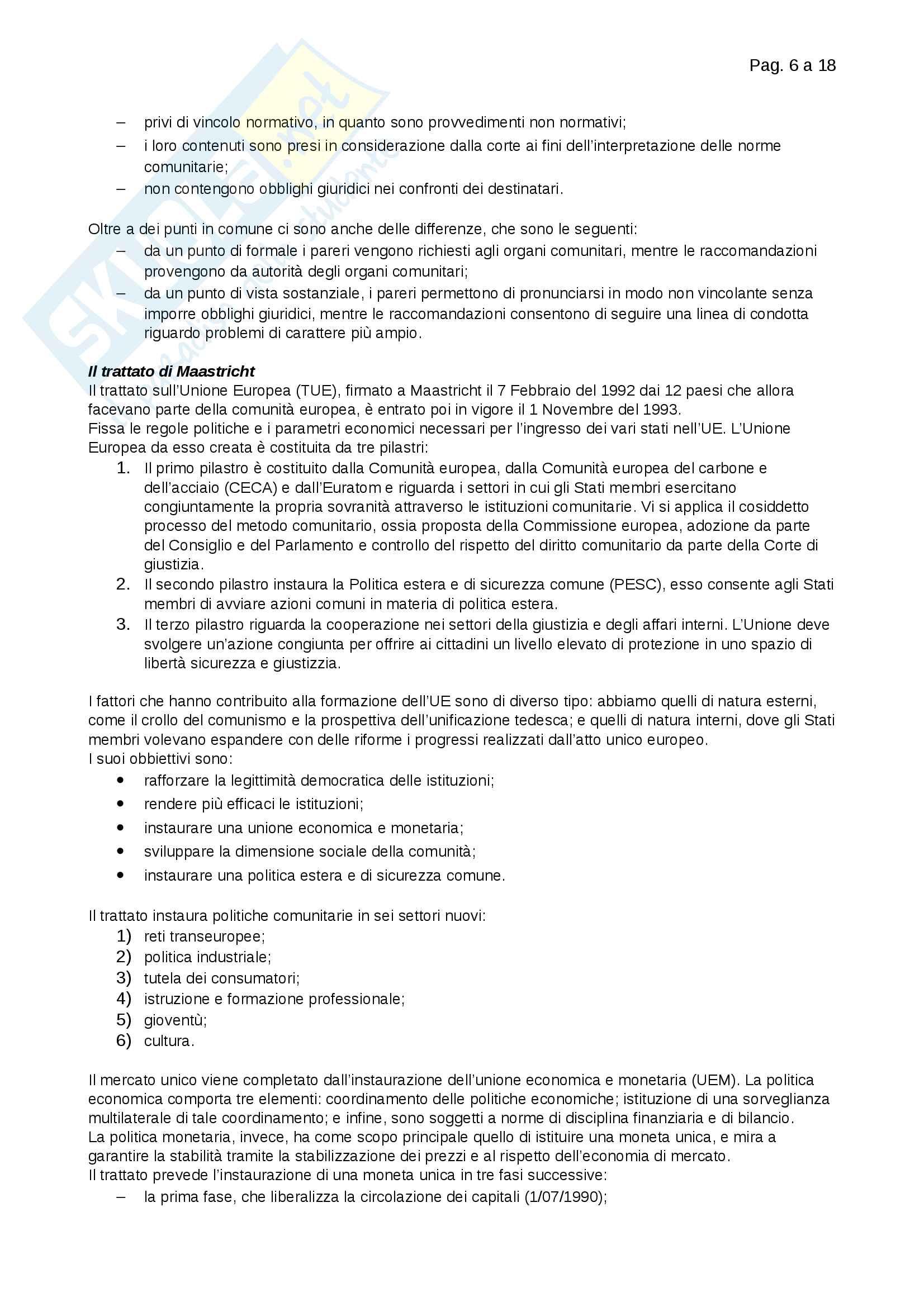 Riassunti Merceologia Pag. 6