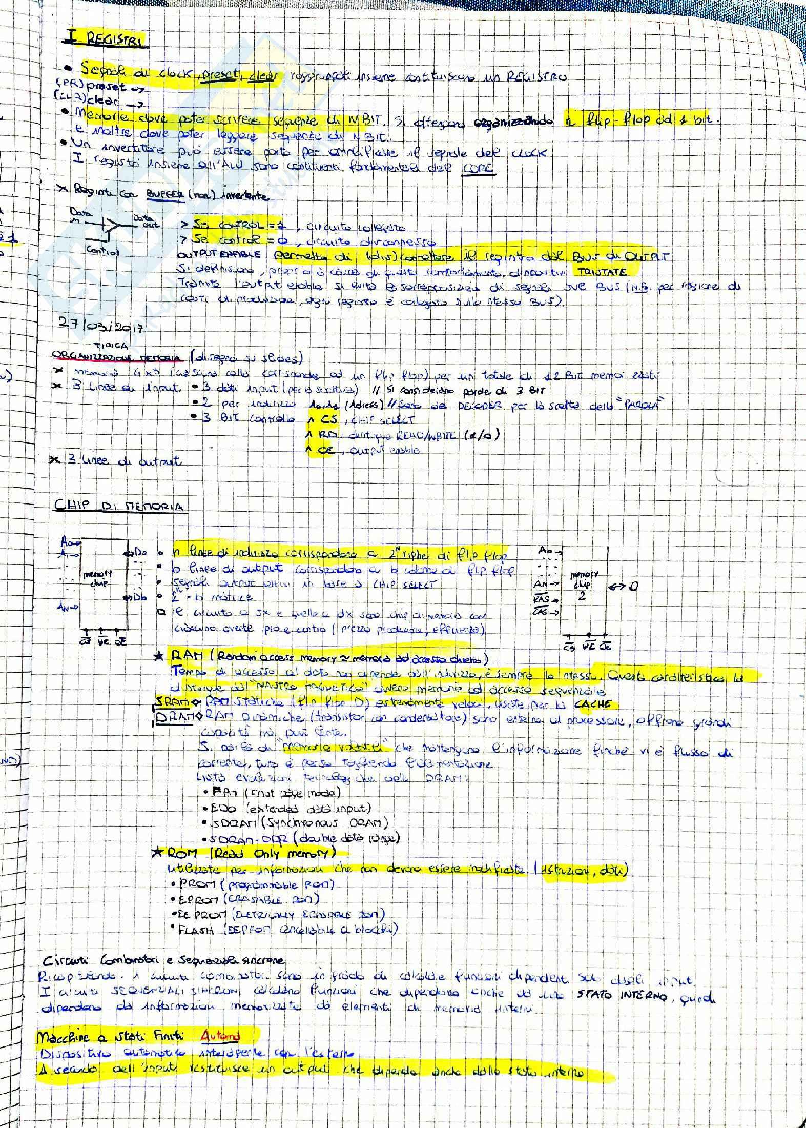 Architettura Degli Elaboratori Pag. 21