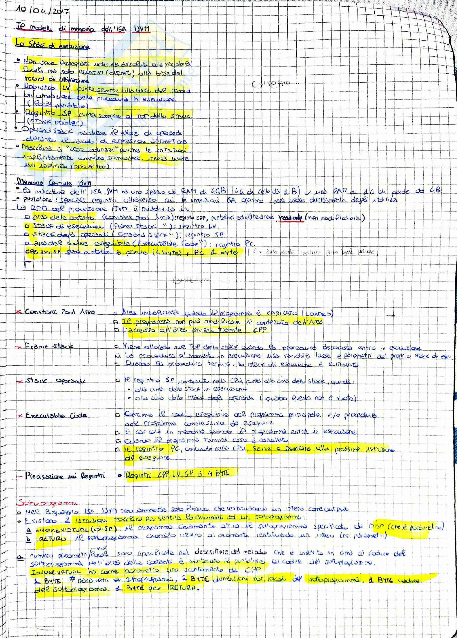 Architettura Degli Elaboratori Pag. 31