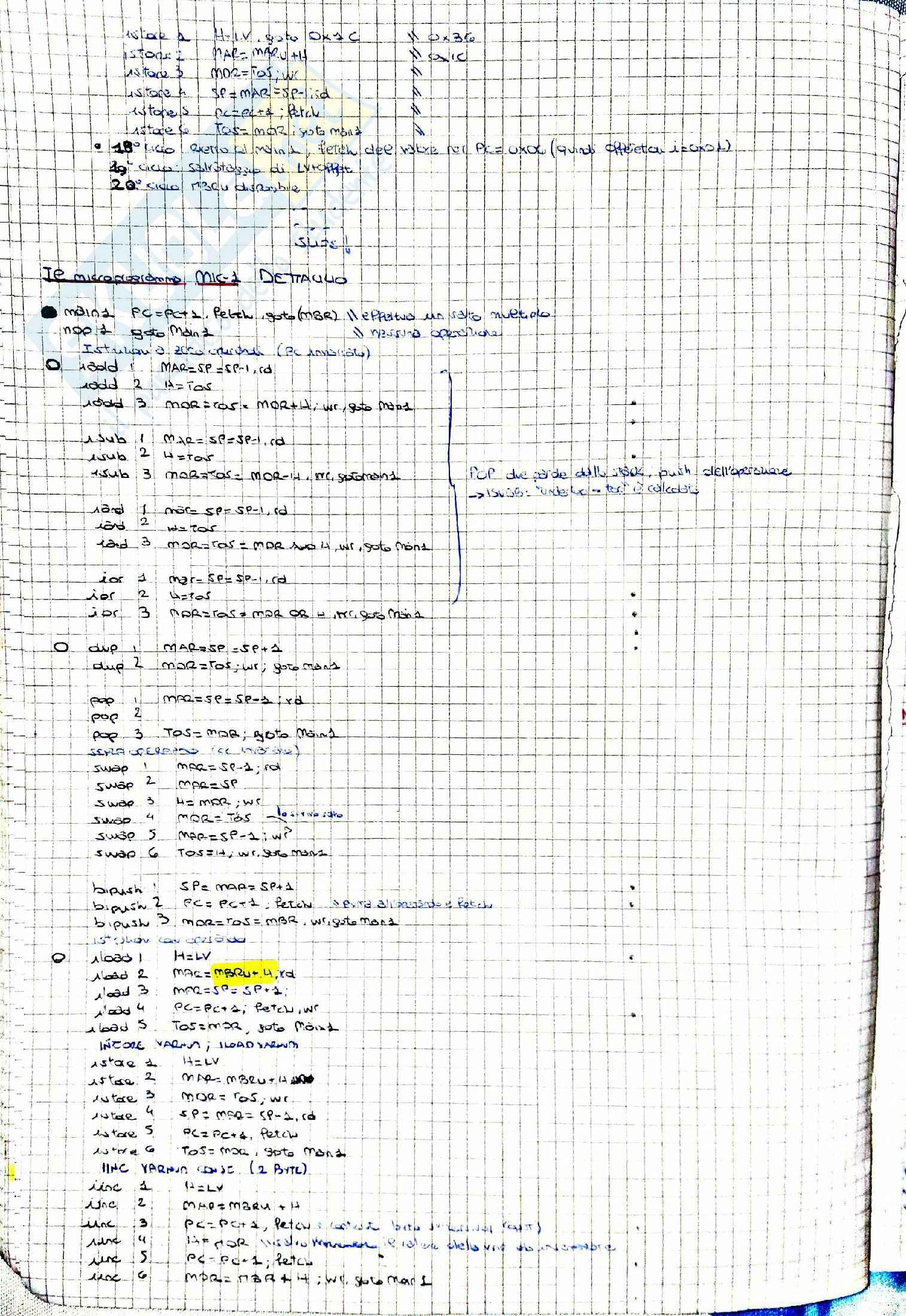 Architettura Degli Elaboratori Pag. 36