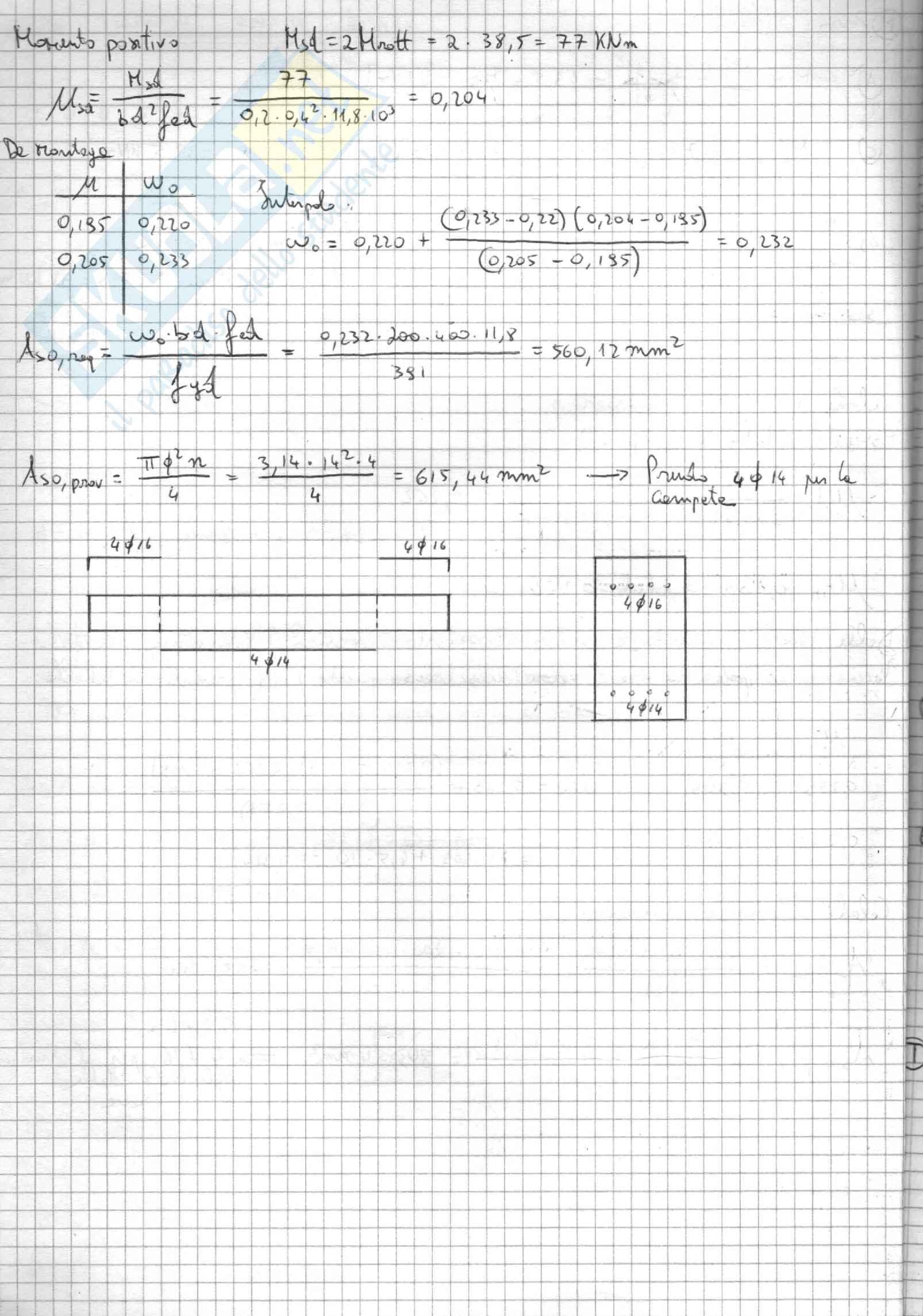 Esercizi completi di Fondazioni, polito ing. civile Pag. 16