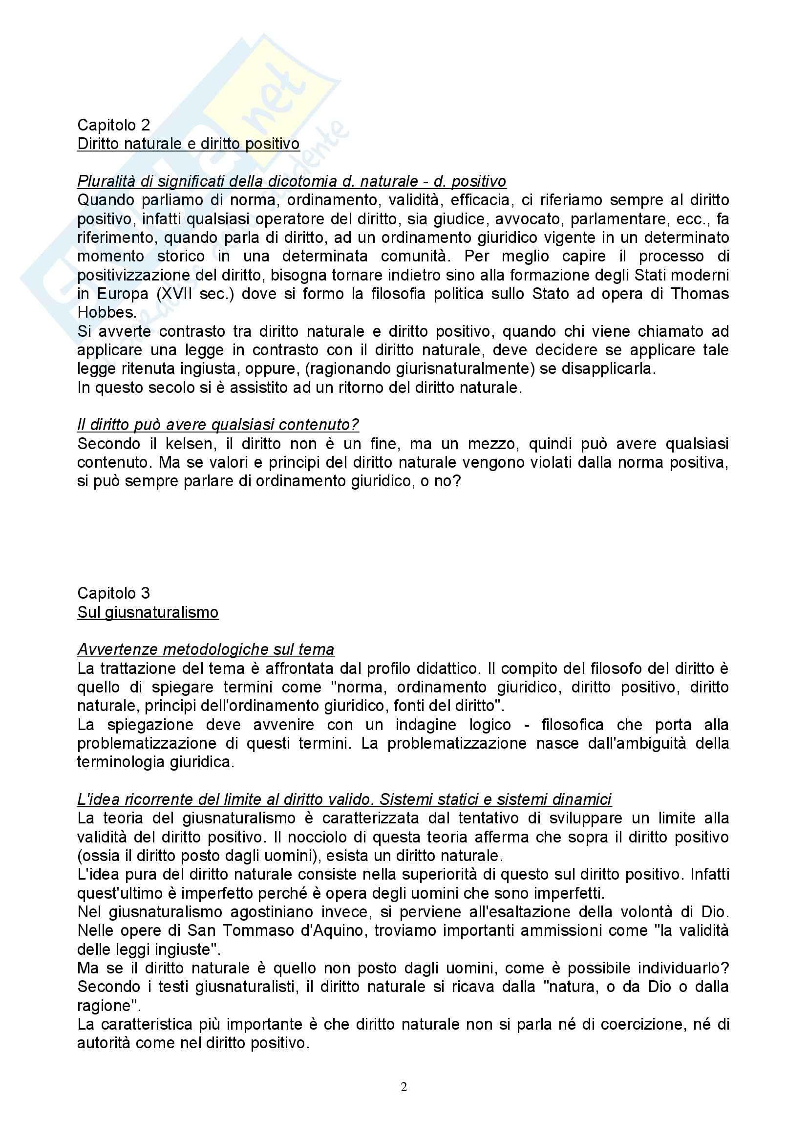 Filosofia del diritto - Appunti Pag. 2