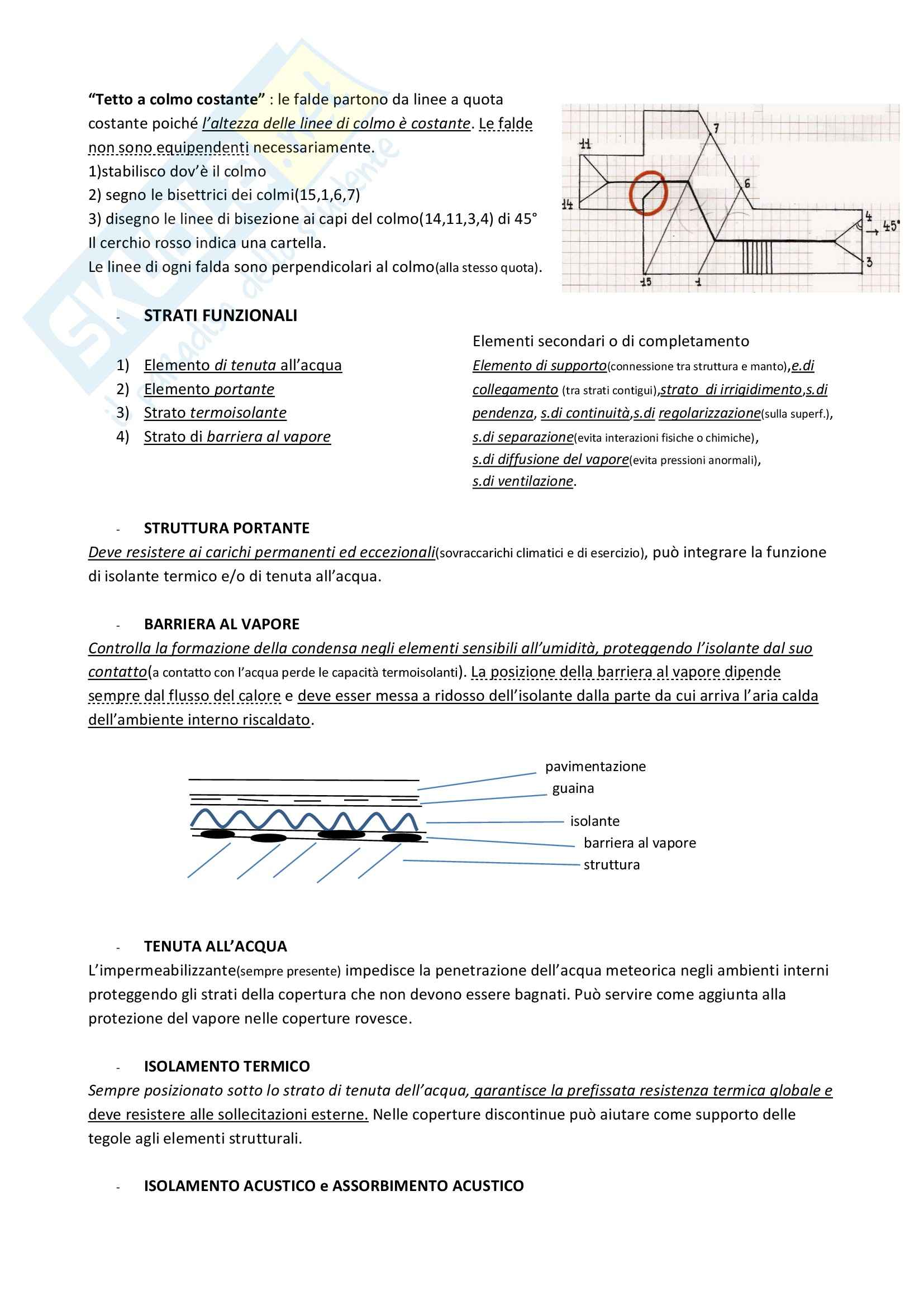 Lezioni, Materiale ed elementi costruttivi Pag. 66