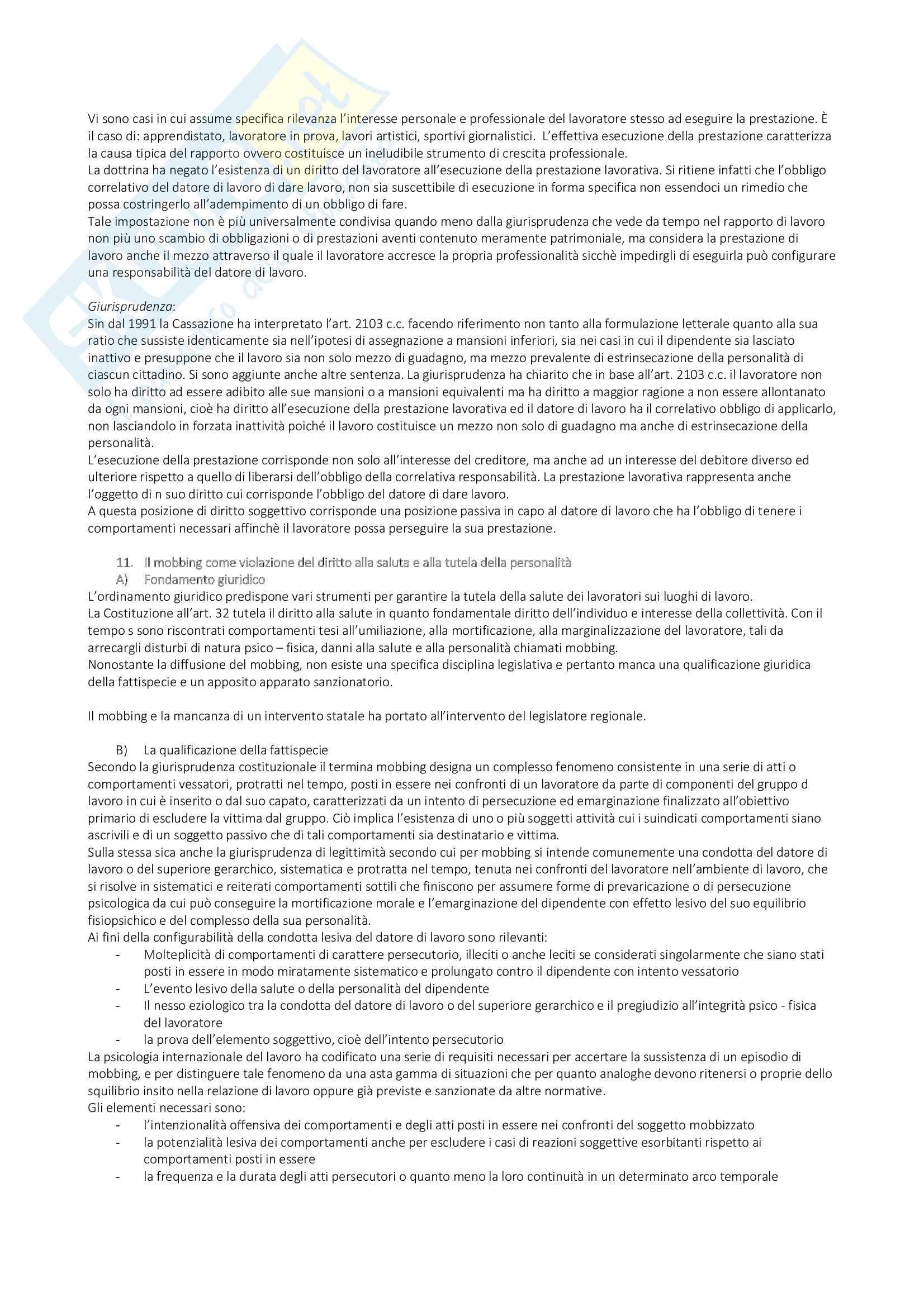 Appunti di Diritto del Lavoro Pag. 36