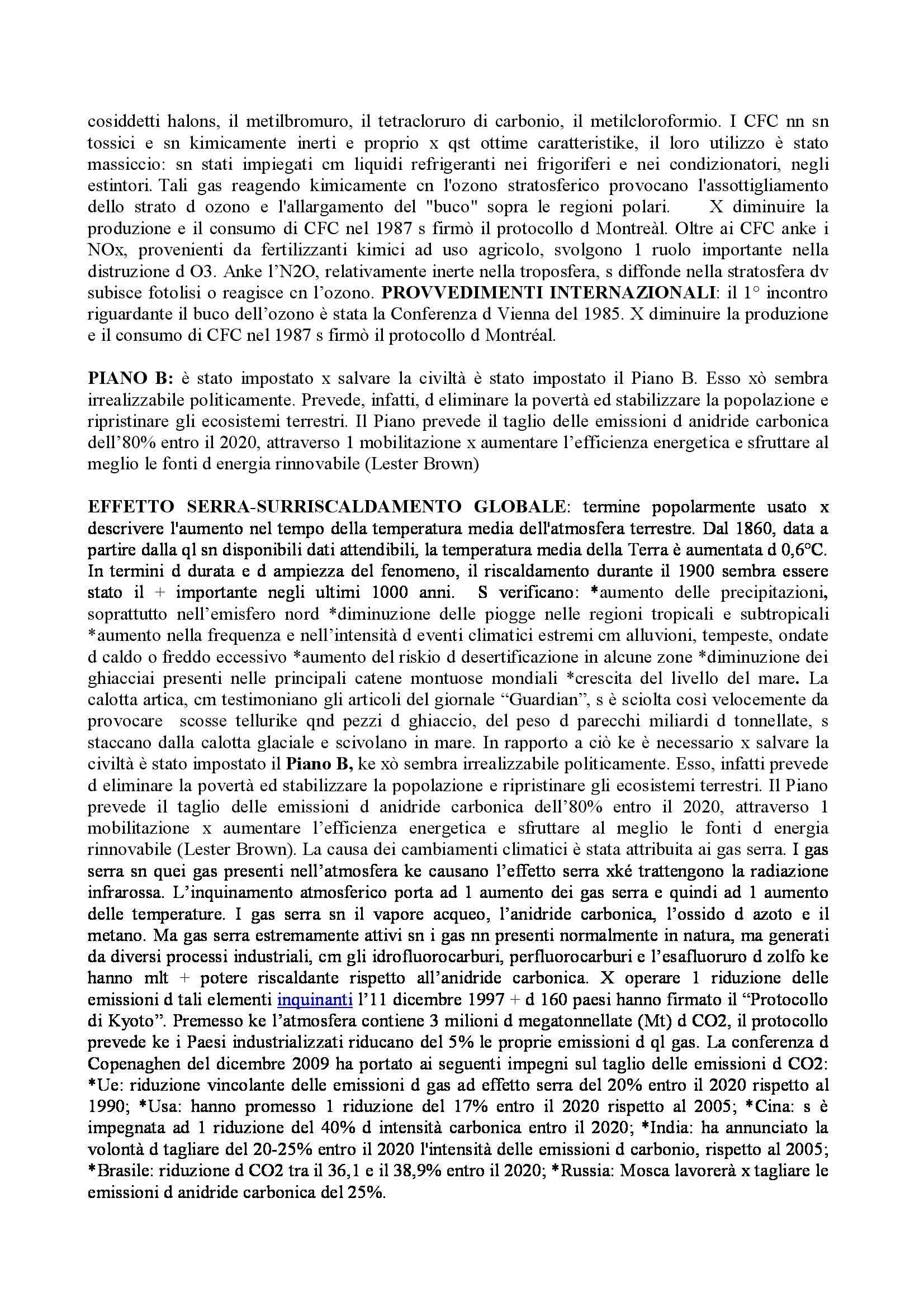 Riassunto esame Formazione Didattica per l'Ecologia, prof. Iacono Pag. 46