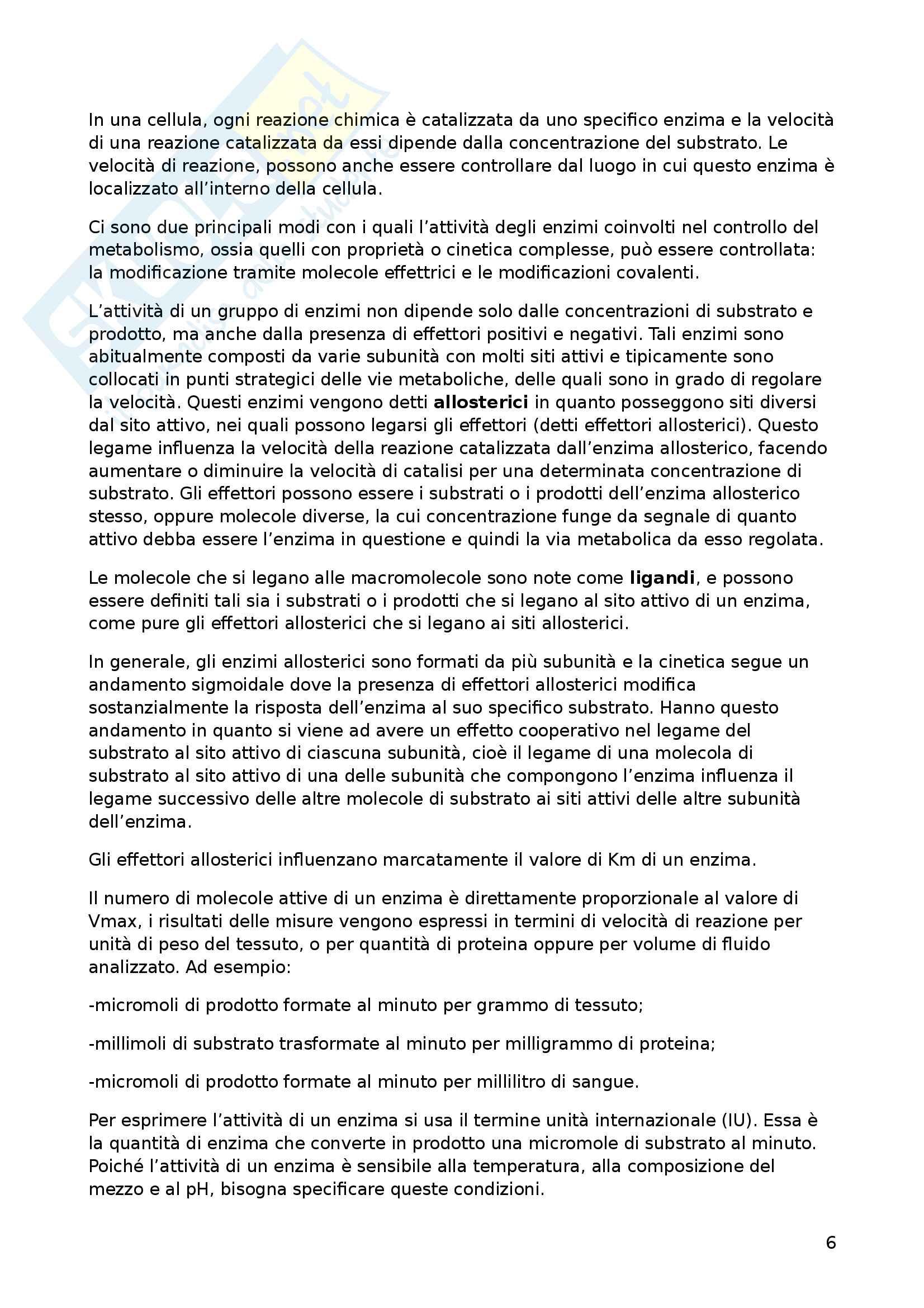 Riassunto esame Biochimica dell'esercizio fisico, prof Piccoli Pag. 6