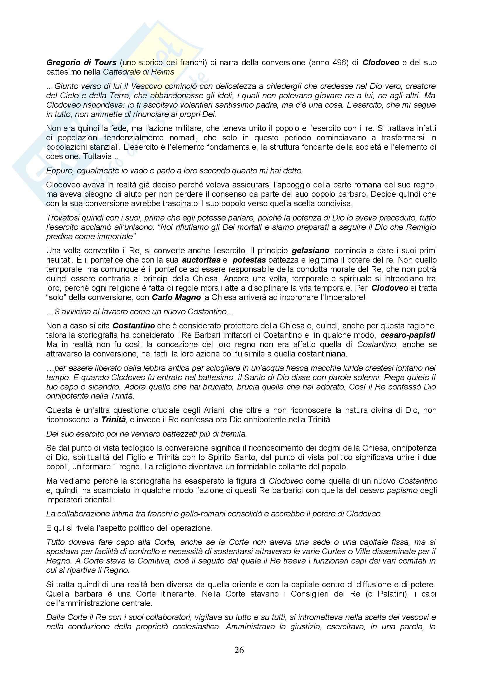 Storia del diritto italiano - lezioni Pag. 26
