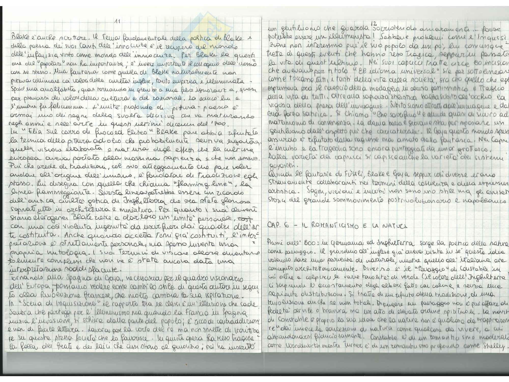 Riassunto esame Storia dell'Arte Contemporanea, prof. Sbrilli, libro consigliato Dal Romanticismo all'Informal di Arcangeli Pag. 6