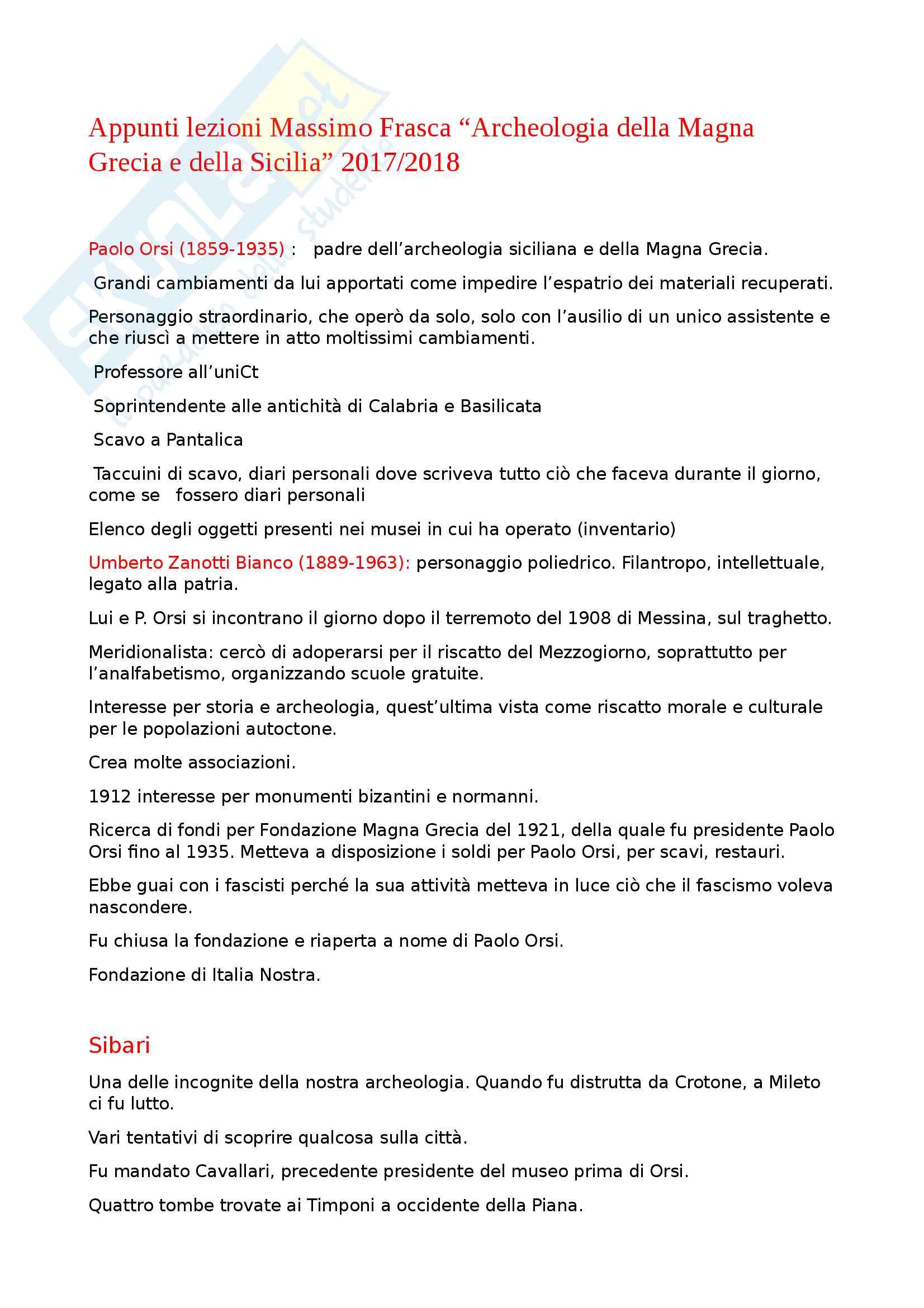 Appunti lezioni Massimo Frasca