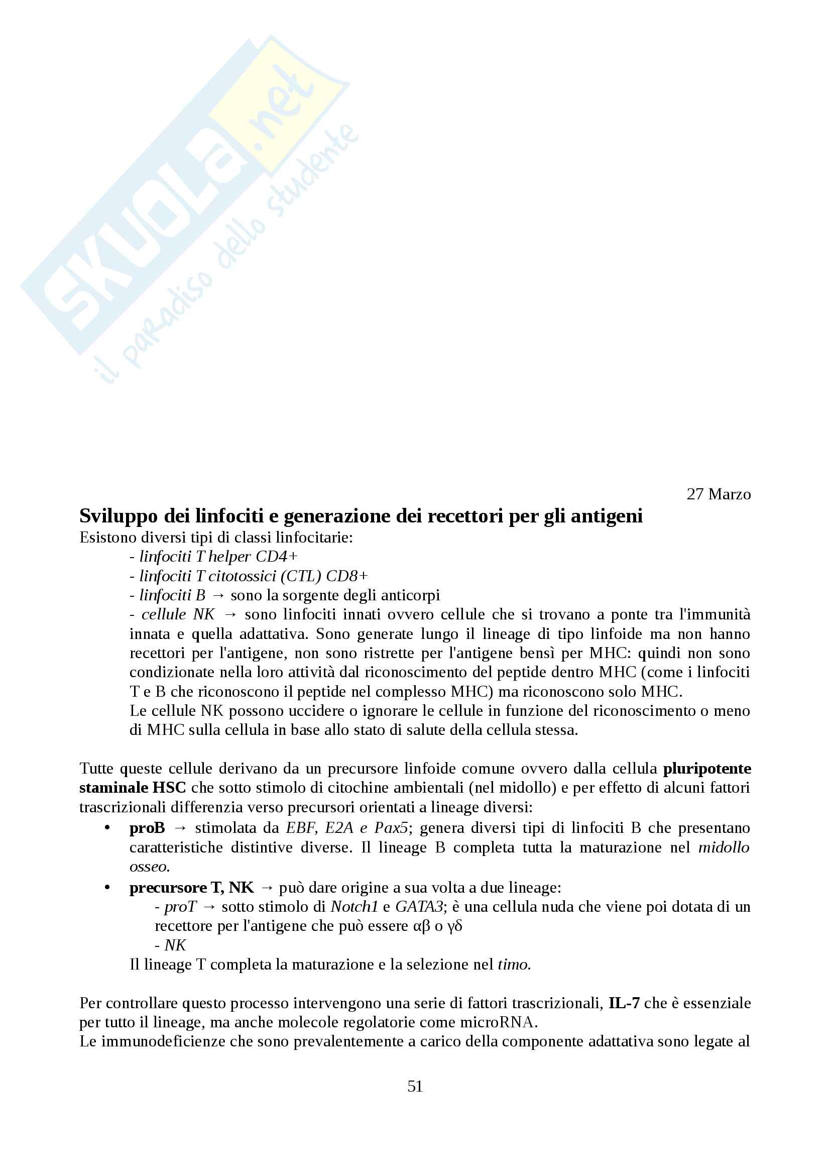 Immunologia Pag. 51