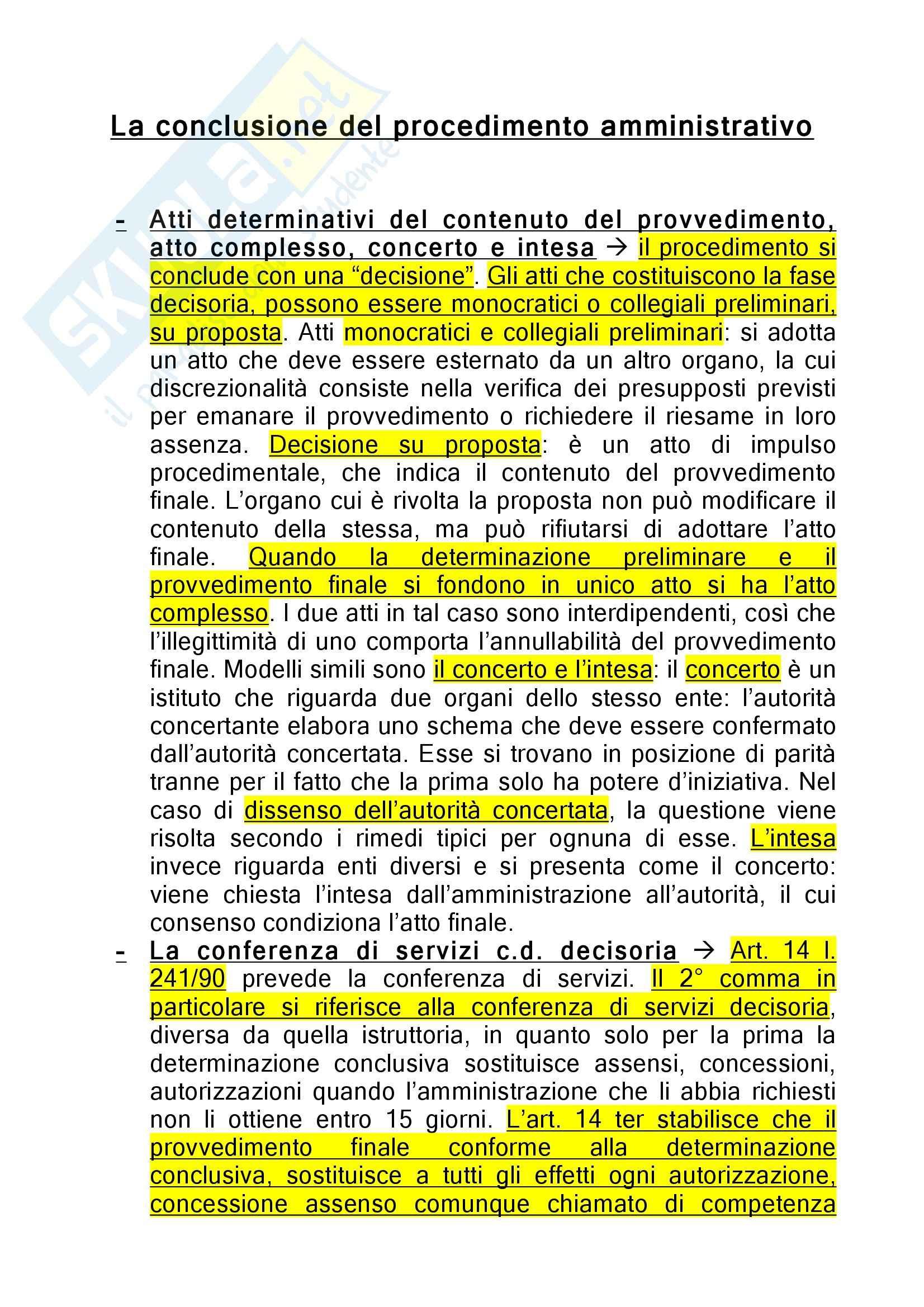 appunto D. Ferrara Diritto Amministrativo