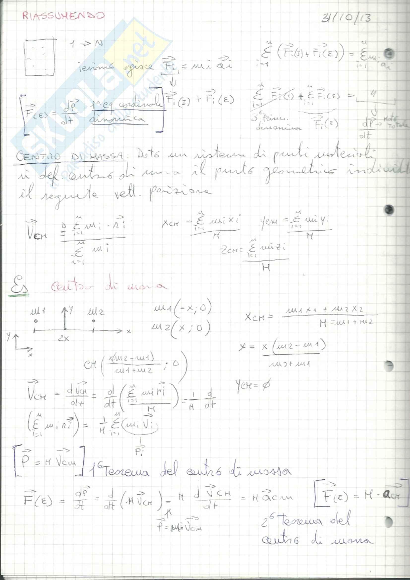 Meccanica e termodinamica, Fisica 1 Pag. 61