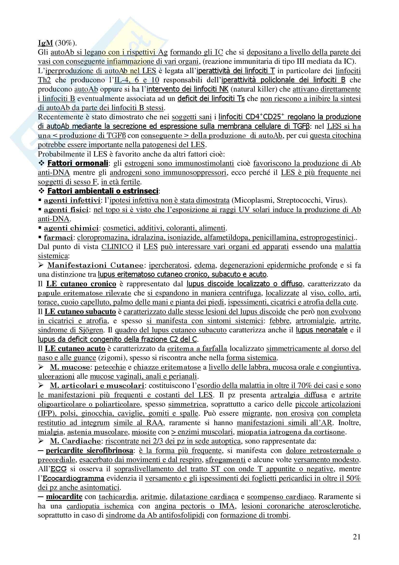 Reumatologia - Corso completo Pag. 21