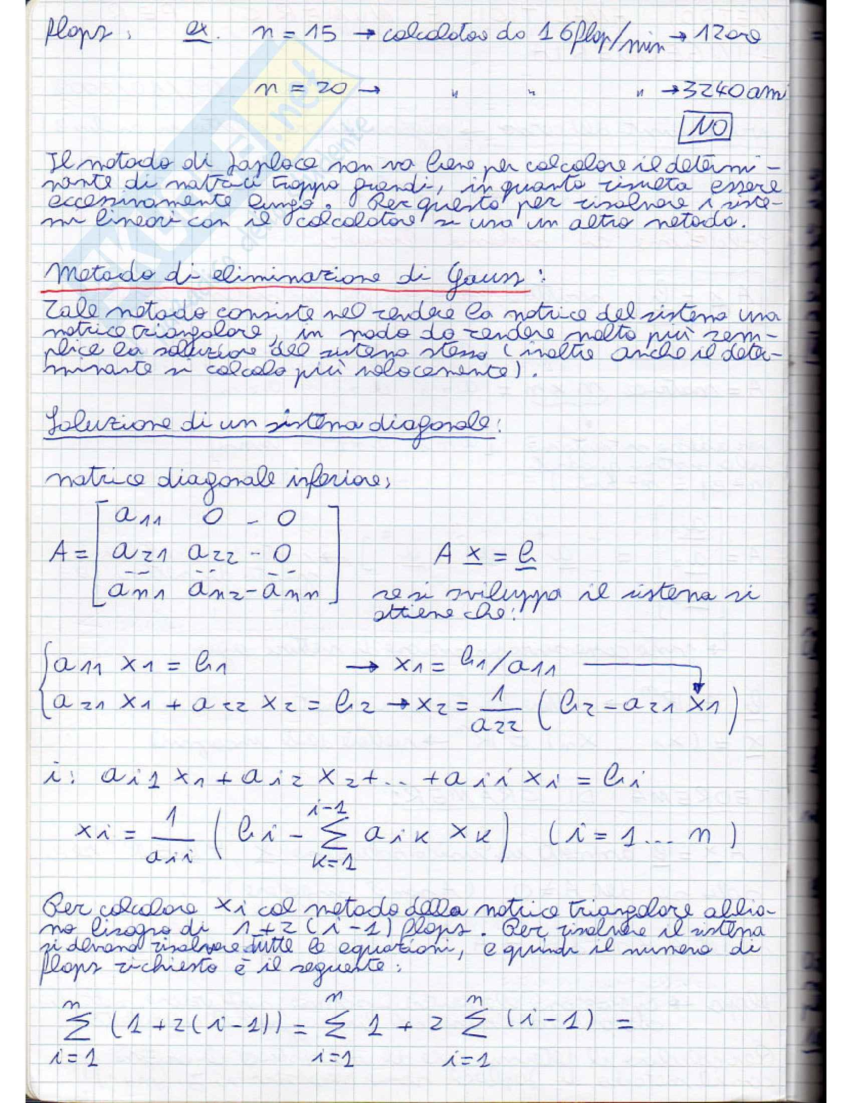 Metodi analitici e numerici per l'ingegneria - Appunti Pag. 2
