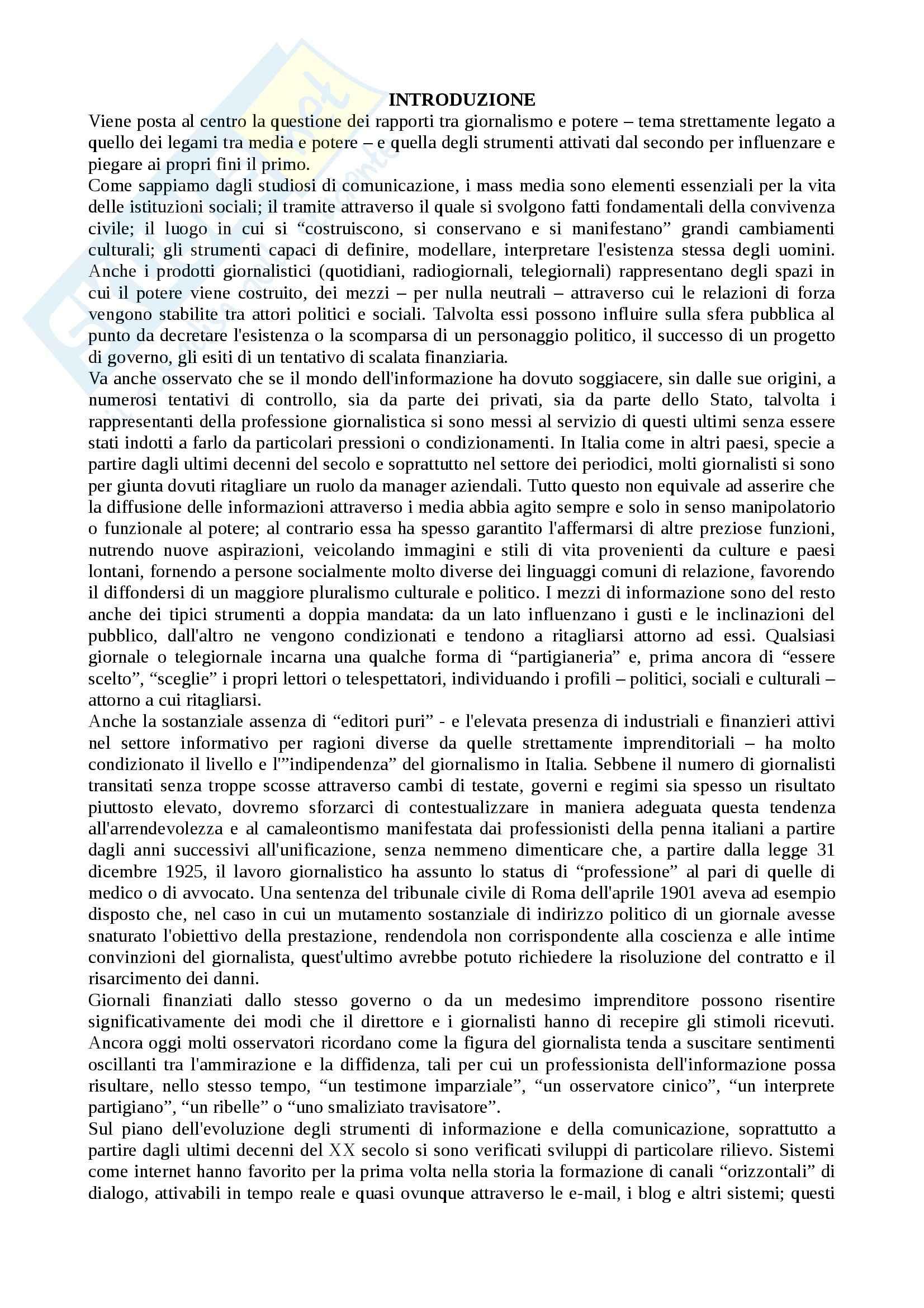 Riassunto esame storia contemporanea, prof. Scavino, libro consigliato Informazione e potere, Forno