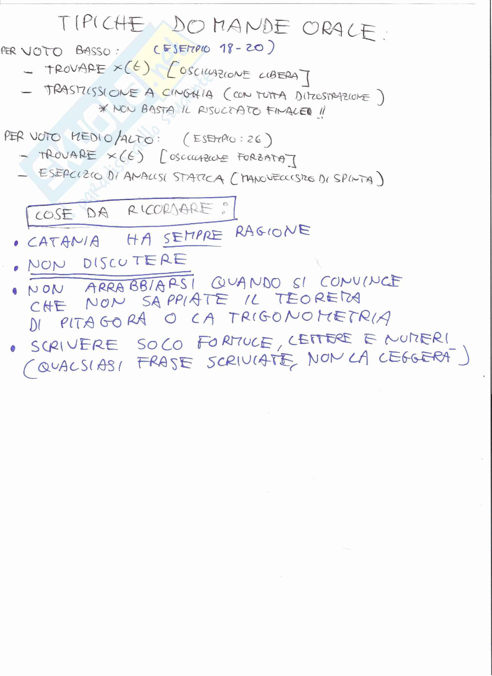 Simulazioni d'esame di Fondamenti di Meccanica delle Macchine T