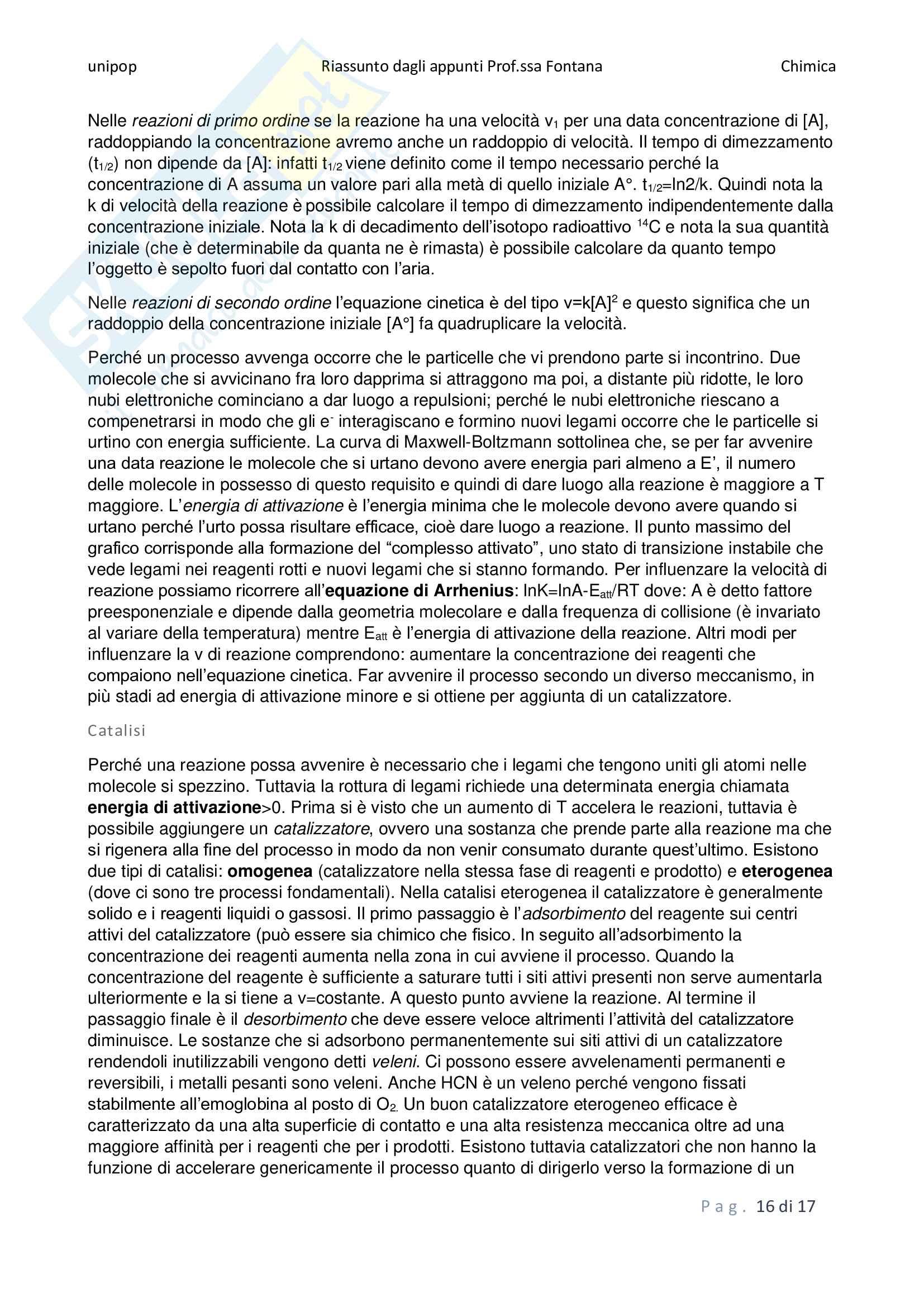 Chimica - riassunti della teoria Pag. 16