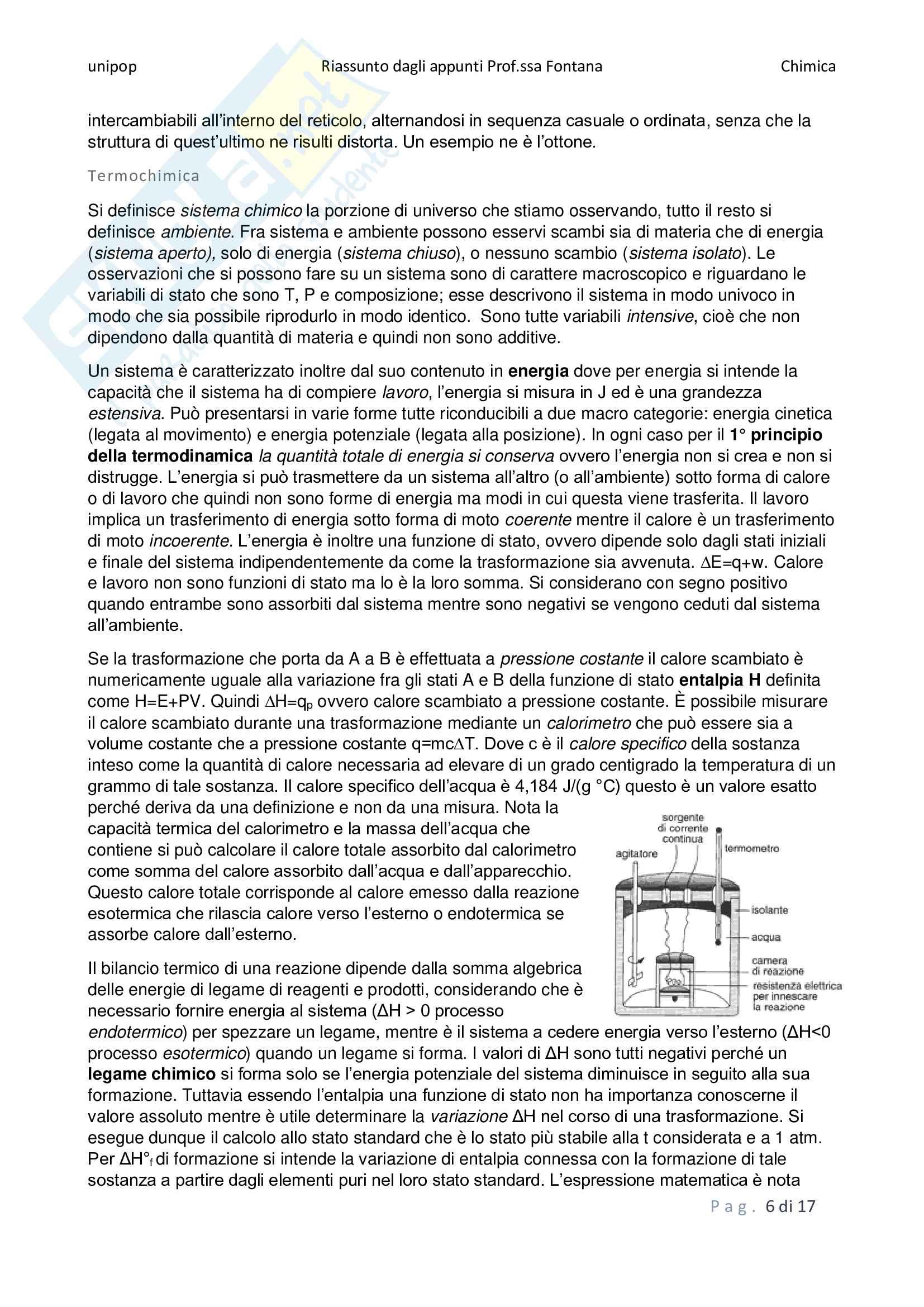 Chimica - riassunti della teoria Pag. 6