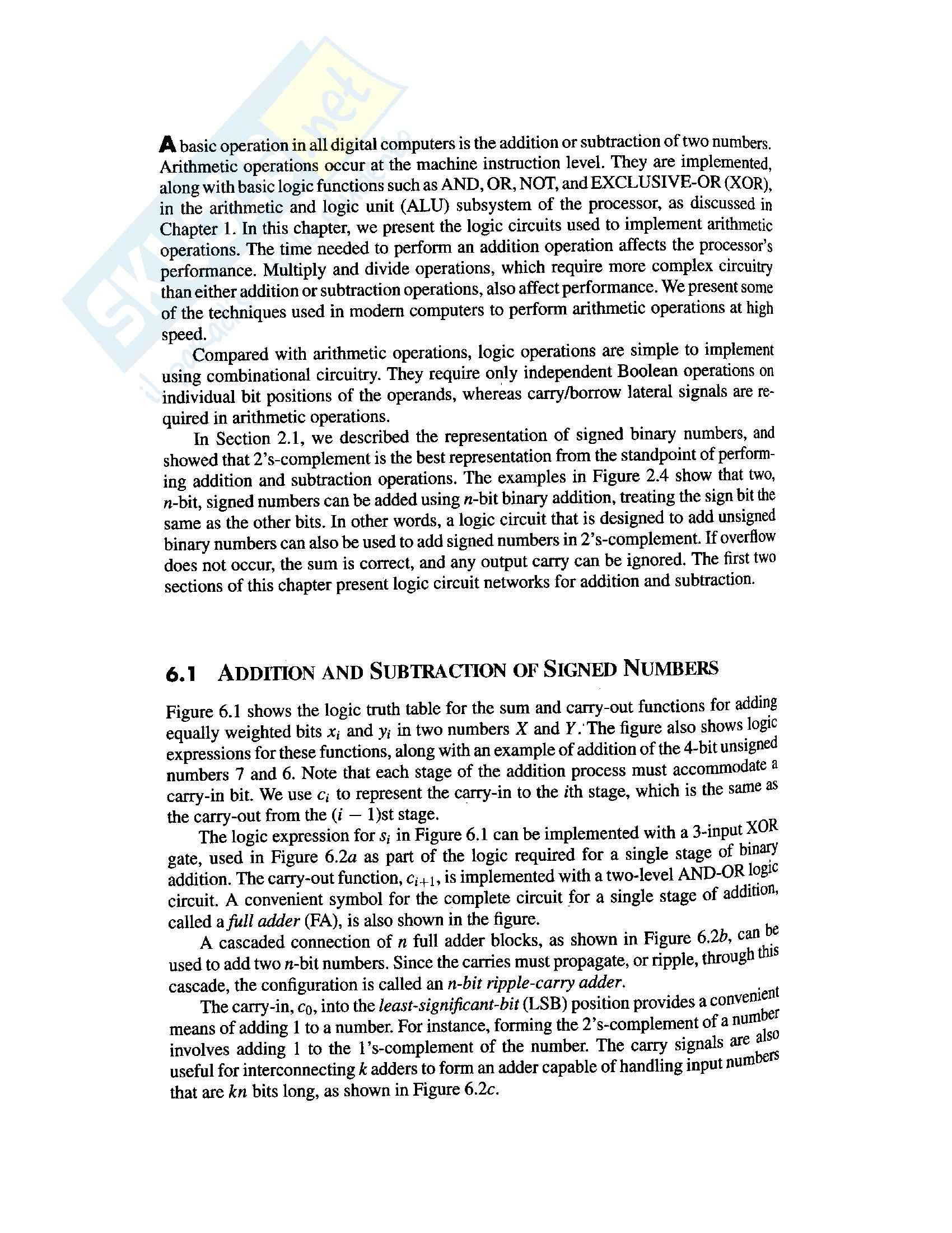 Architetture Sistemi Elaborazione -  Moltiplicatori sequenziali unsigned Pag. 2