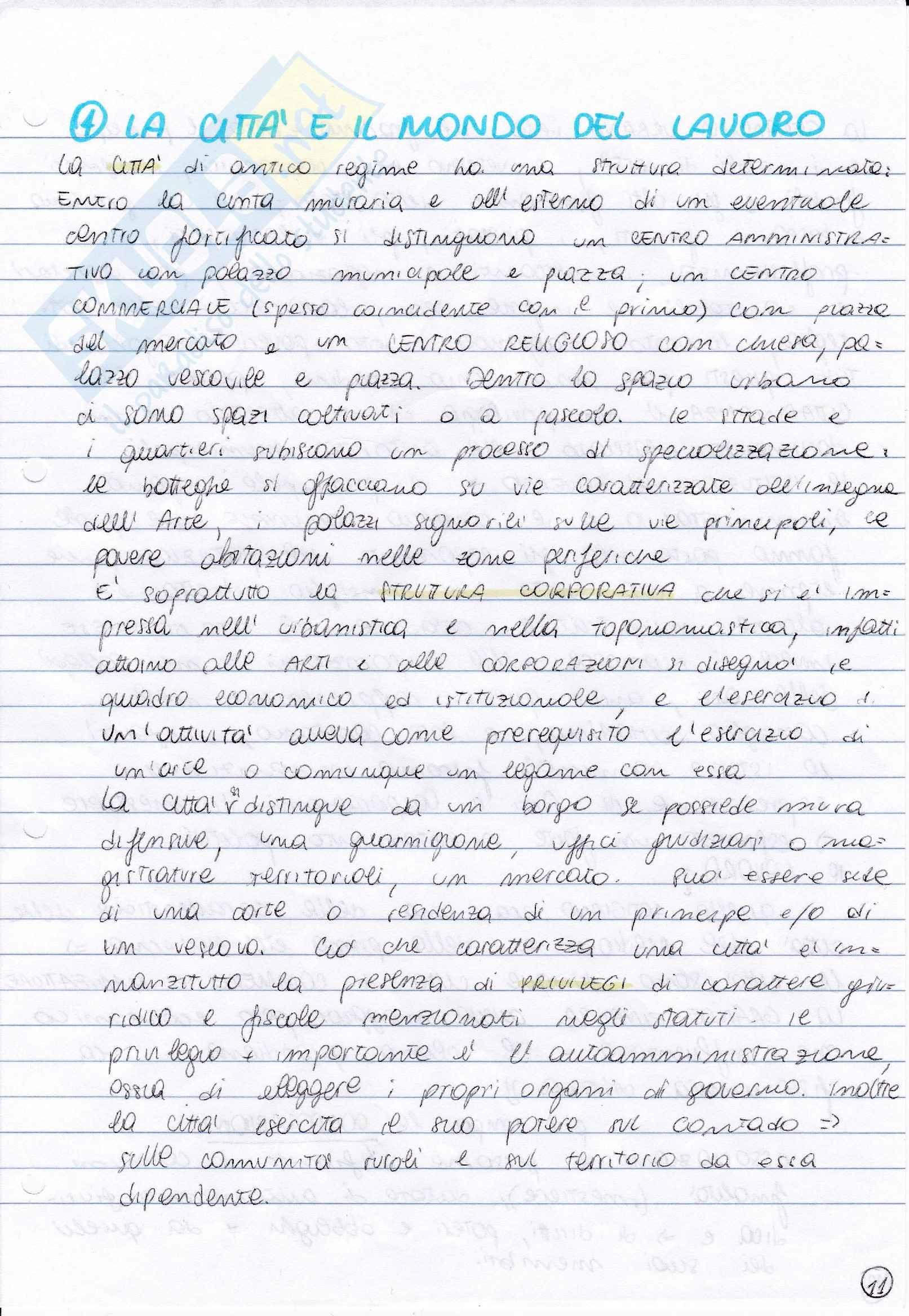 Riassunto esame Storia moderna, prof. Pastore, libro consigliato La società di antico regime, Romagnani Pag. 11